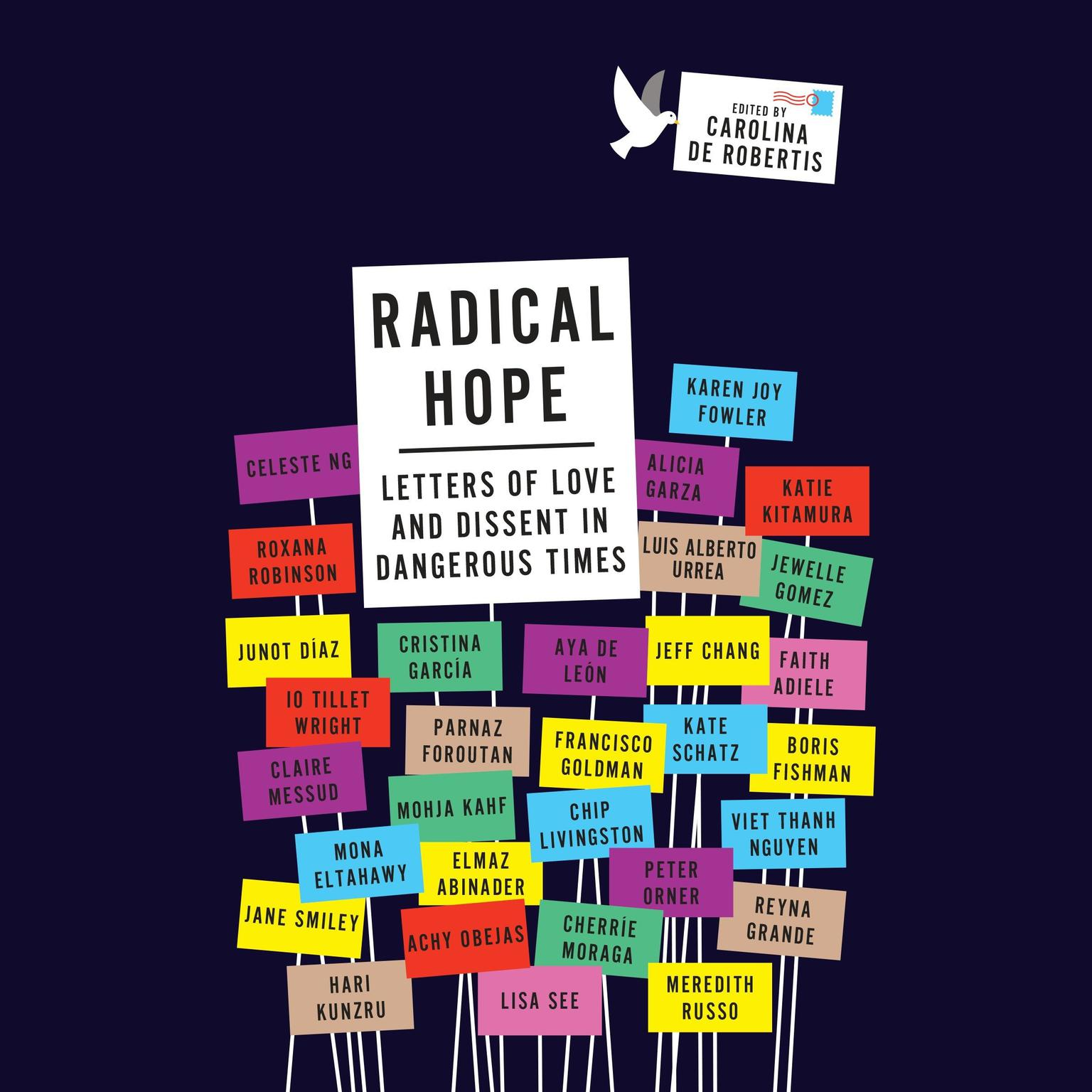 Printable Radical Hope: Letters of Love and Dissent in Dangerous Times Audiobook Cover Art