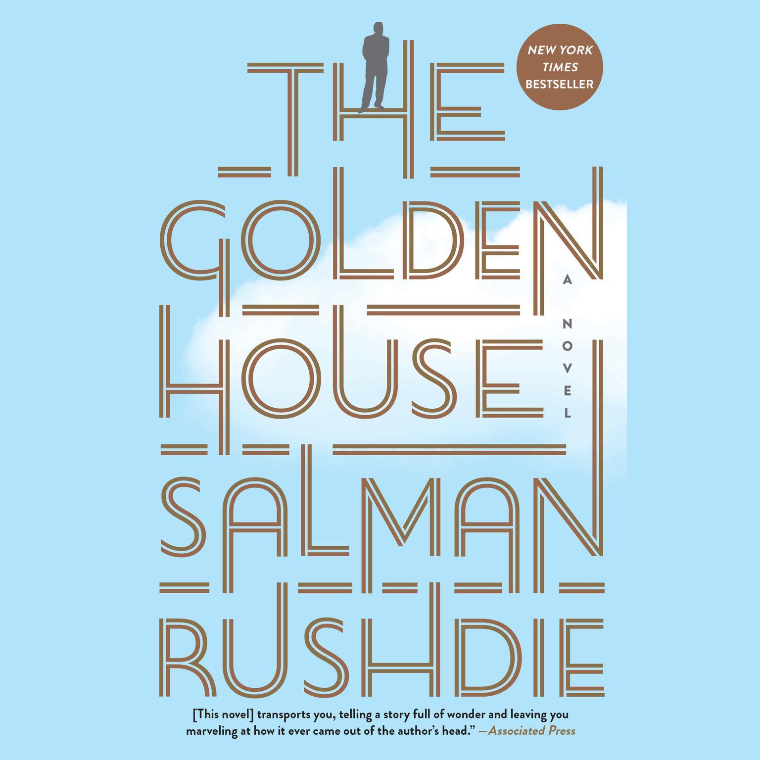 Printable The Golden House: A Novel Audiobook Cover Art