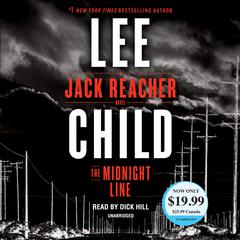 The Midnight Line: A Jack Reacher Novel Audiobook, by Lee Child