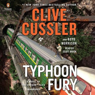 Typhoon Fury Audiobook, by Clive Cussler