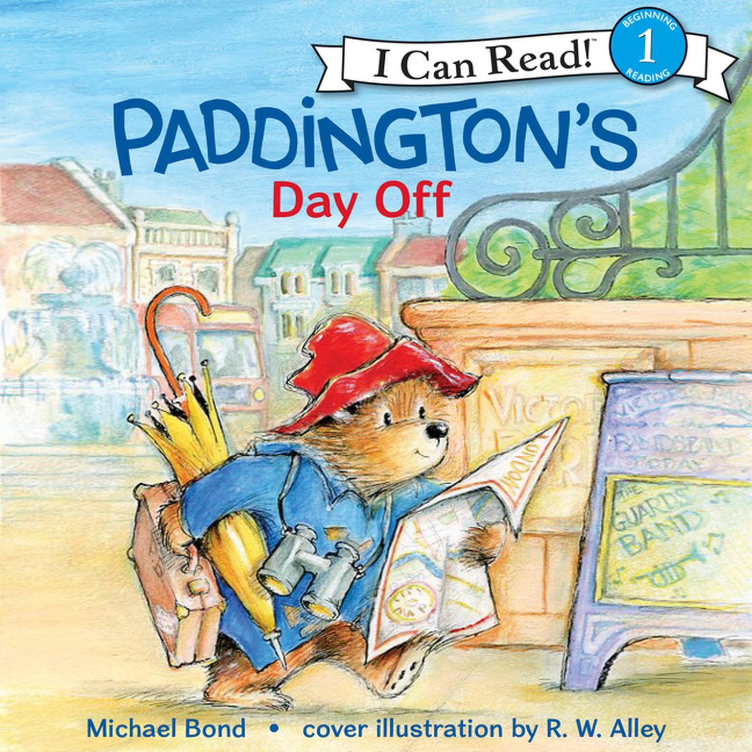Printable Paddington's Day Off Audiobook Cover Art