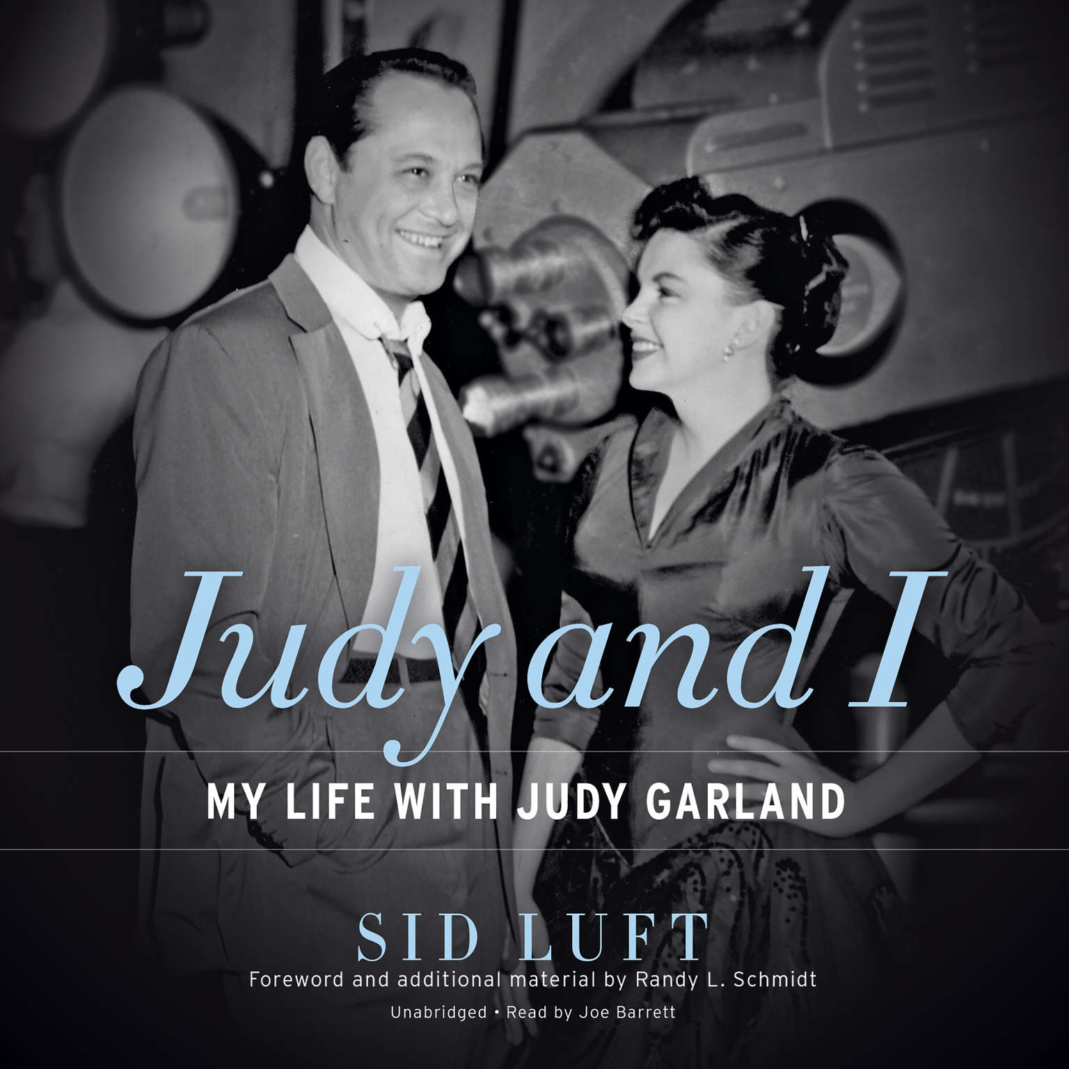 Printable Judy and I: My Life with Judy Garland Audiobook Cover Art