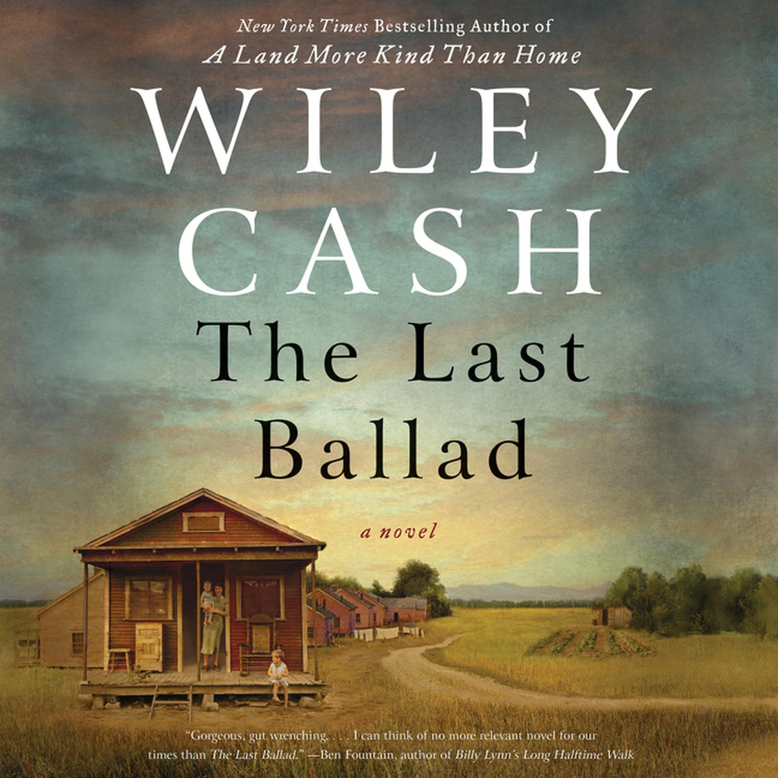 Printable The Last Ballad: A Novel Audiobook Cover Art