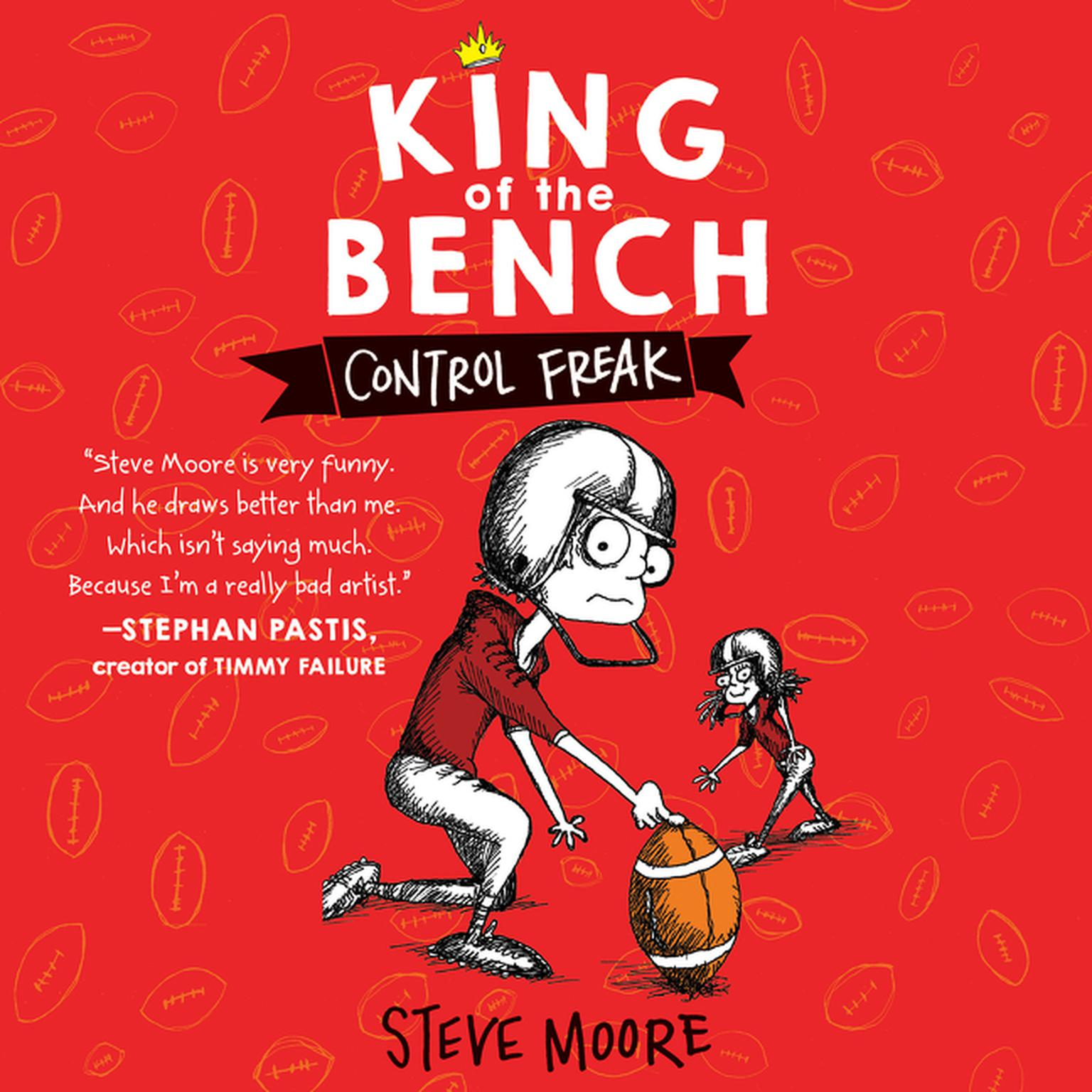 Printable King of the Bench: Control Freak Audiobook Cover Art