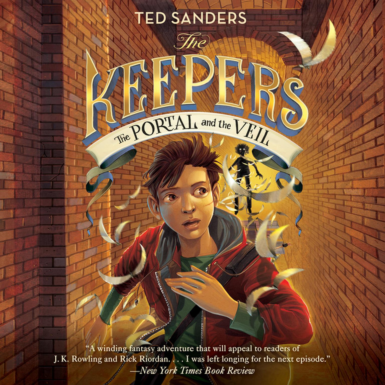 Printable The Keepers #3: The Portal and the Veil Audiobook Cover Art