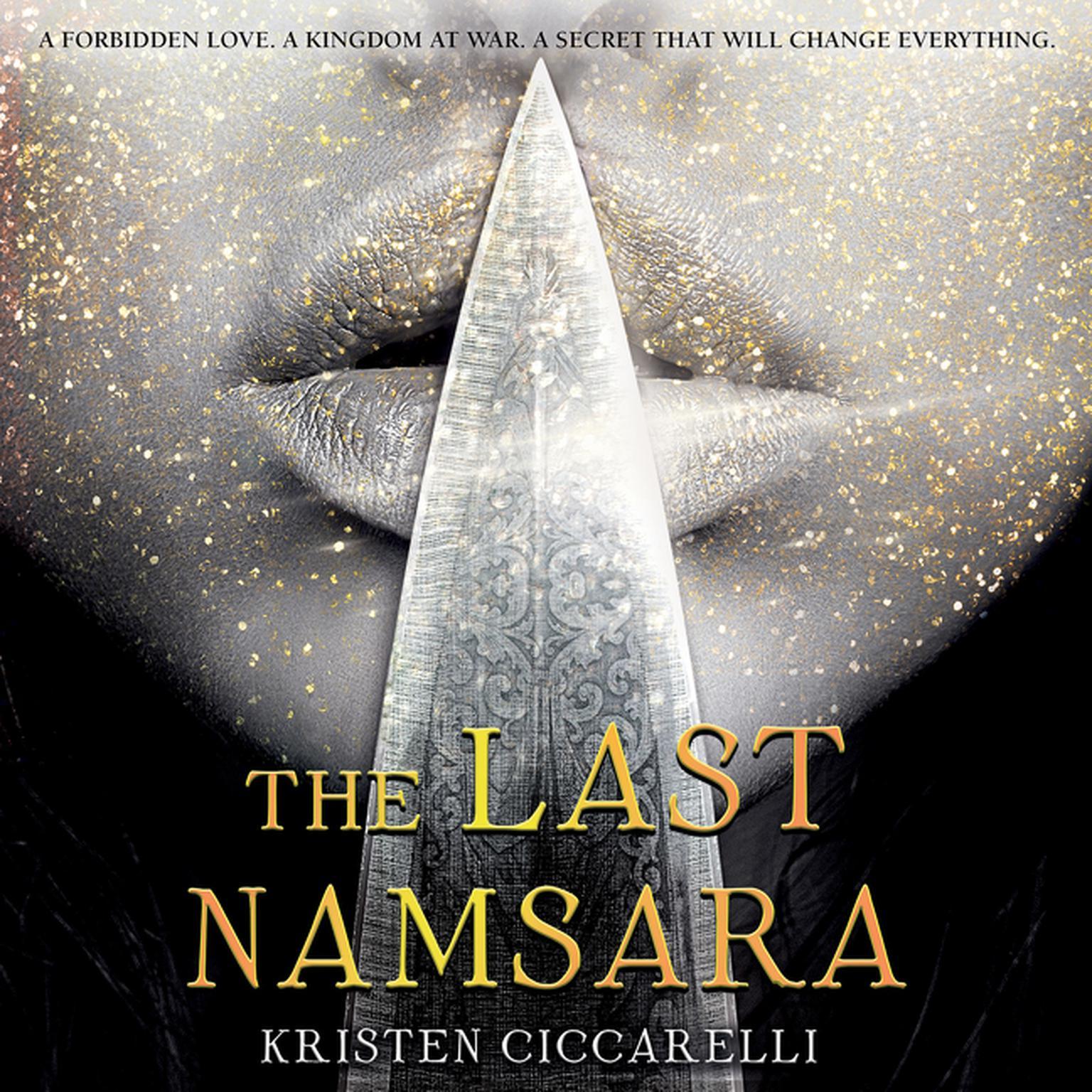 Printable The Last Namsara Audiobook Cover Art