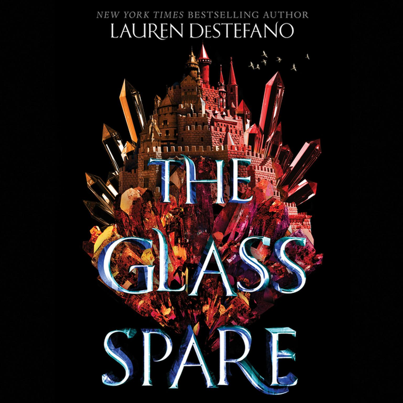 Printable The Glass Spare Audiobook Cover Art