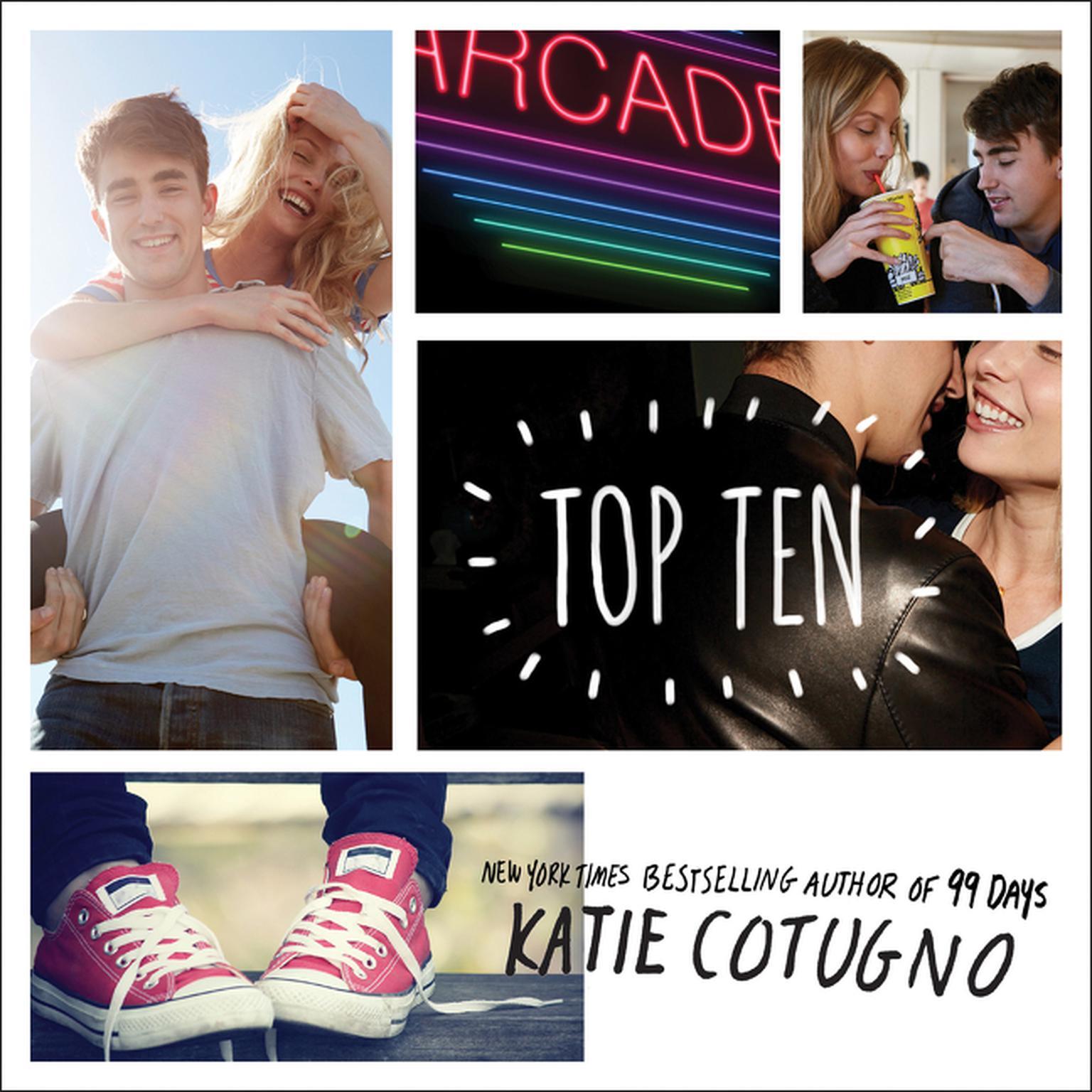 Printable Top Ten Audiobook Cover Art