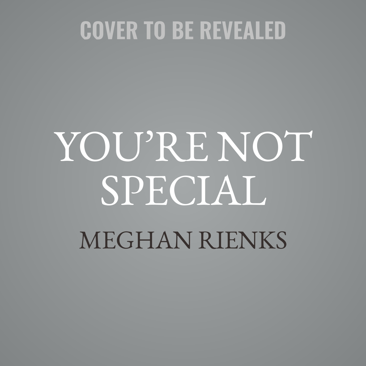 Printable You're Not Special: It's Okay, Neither Am I Audiobook Cover Art