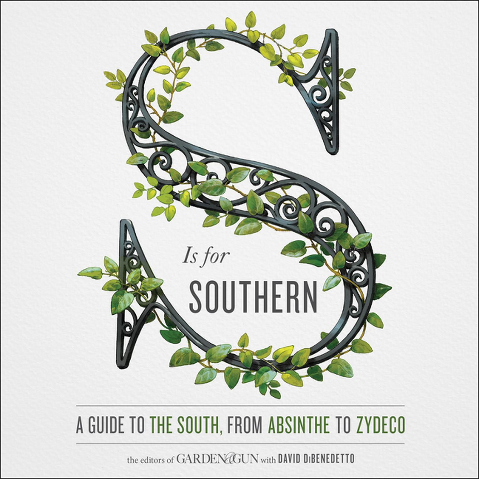 Printable S Is for Southern: A Guide to the South, from Absinthe to Zydeco Audiobook Cover Art