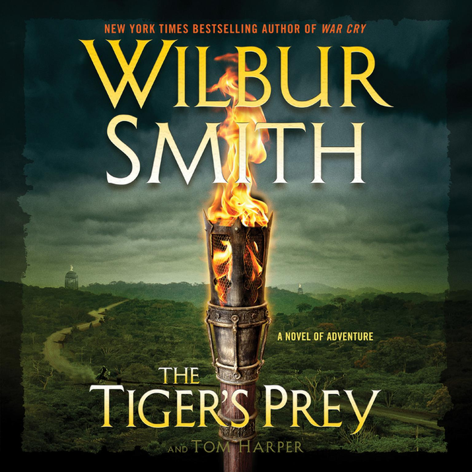 Printable The Tiger's Prey: A Novel of Adventure Audiobook Cover Art