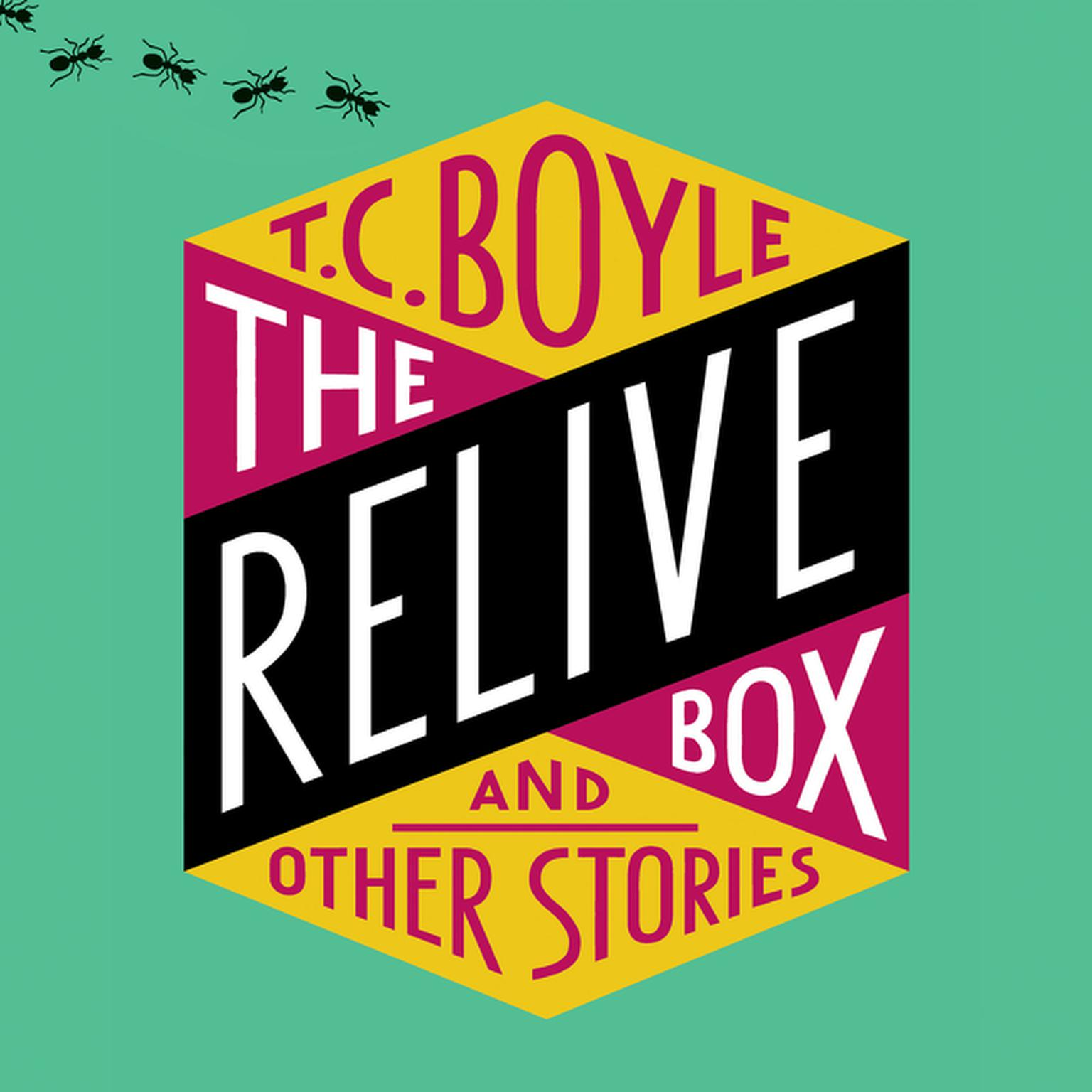 Printable The Relive Box and Other Stories Audiobook Cover Art