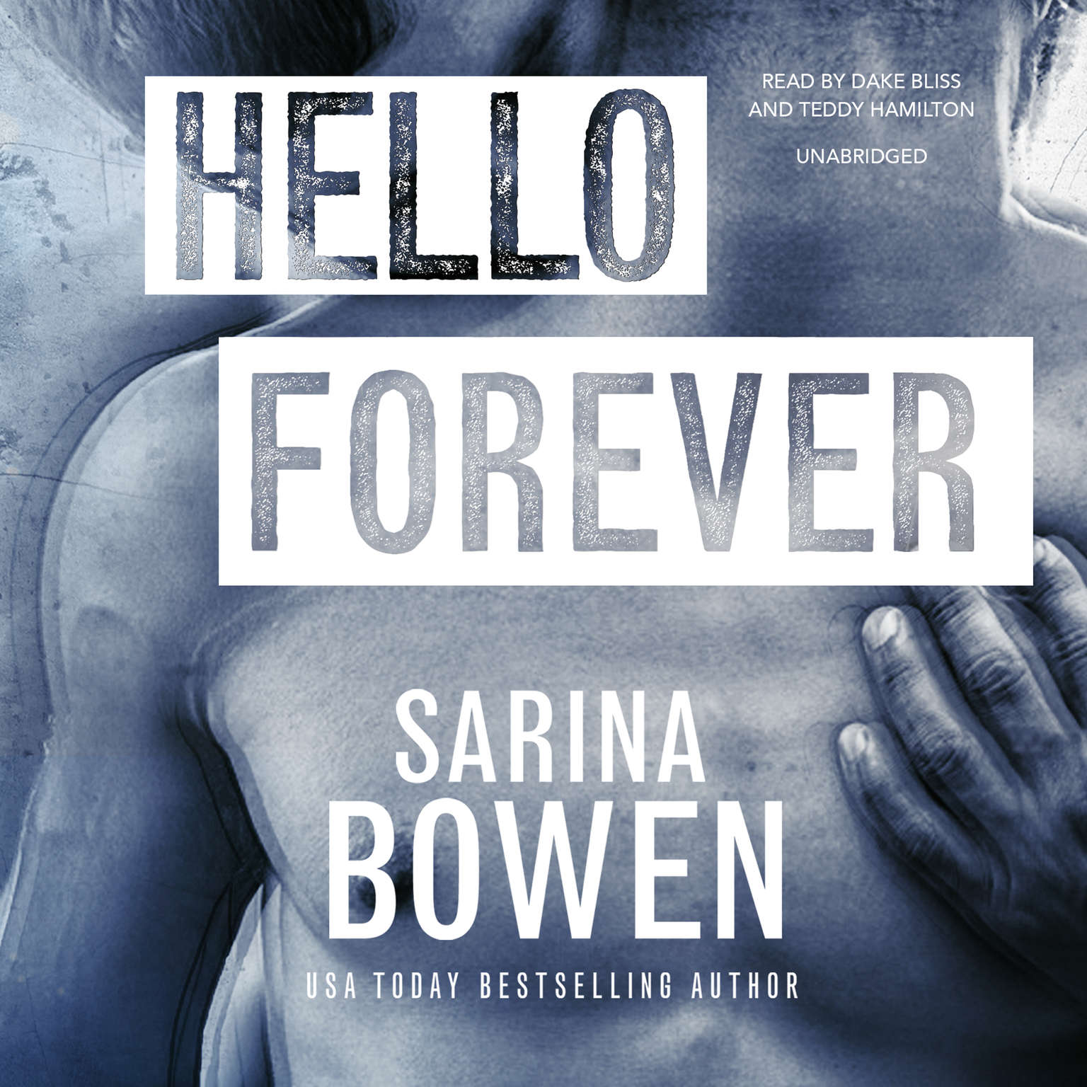 Printable Hello Forever Audiobook Cover Art