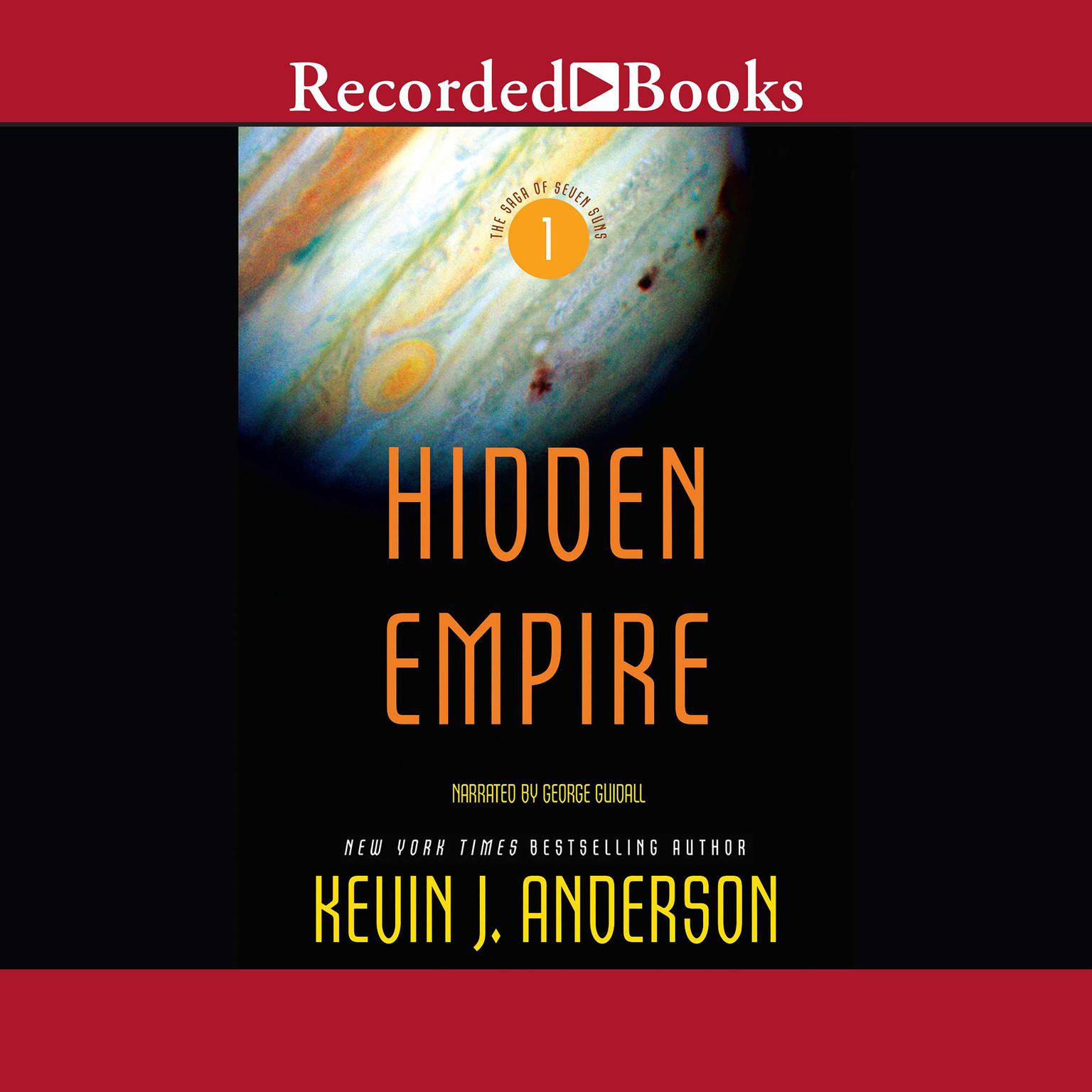 Printable Hidden Empire Audiobook Cover Art