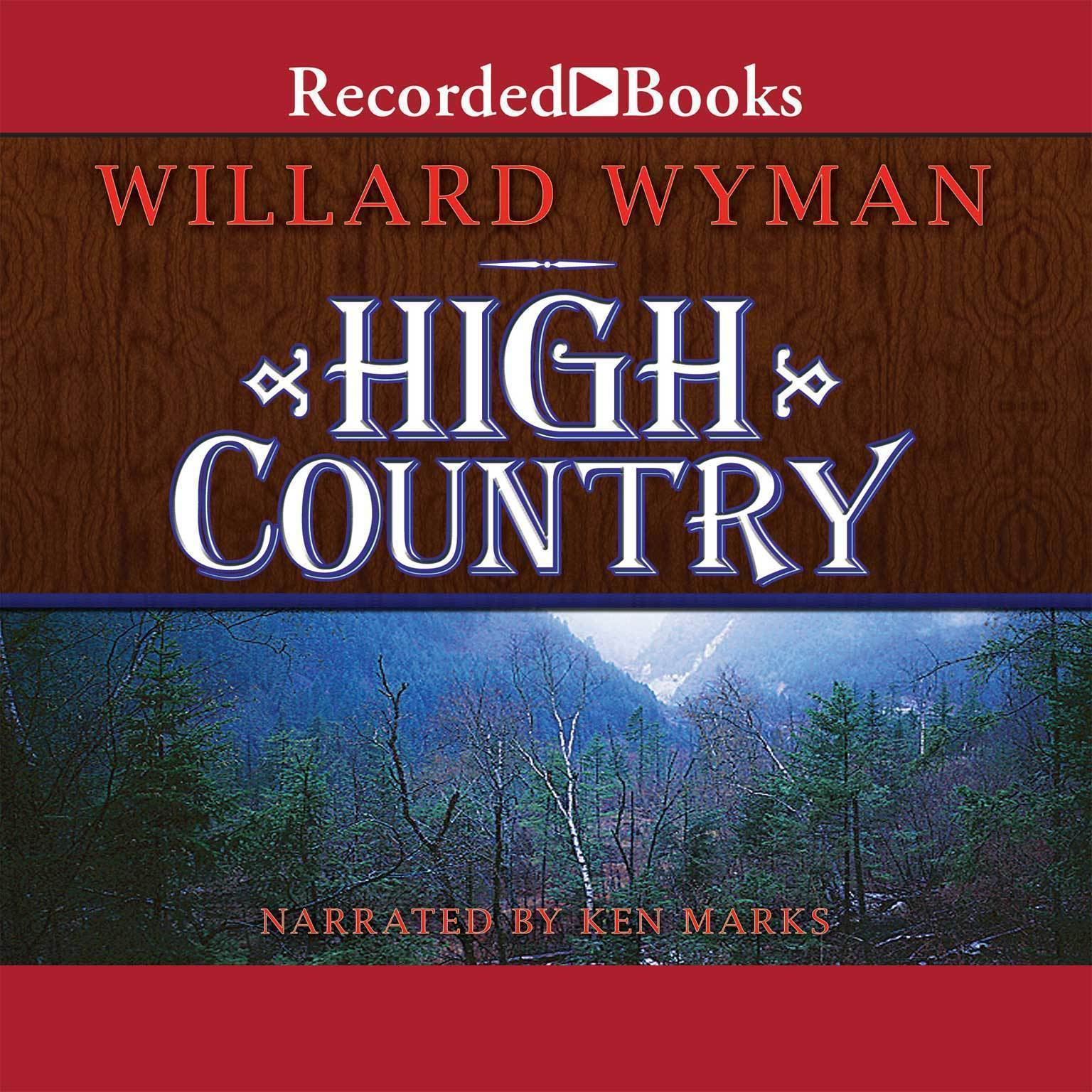 Printable High Country Audiobook Cover Art