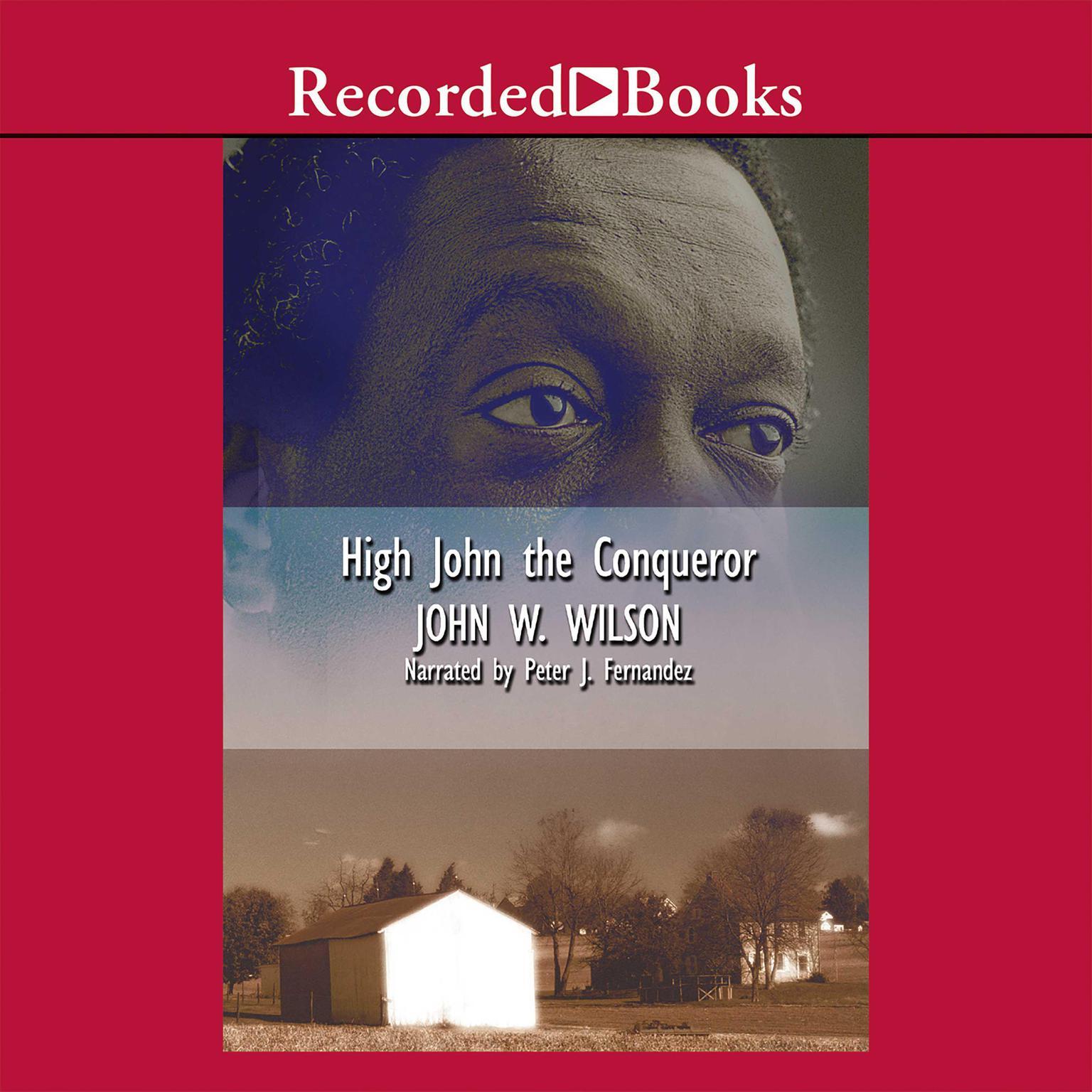 Printable High John the Conqueror Audiobook Cover Art