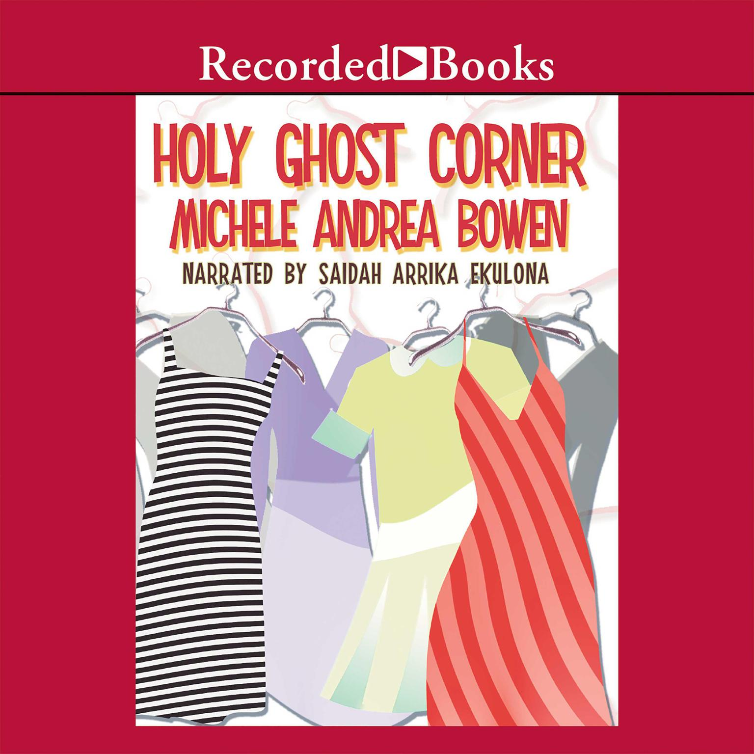 Printable Holy Ghost Corner Audiobook Cover Art