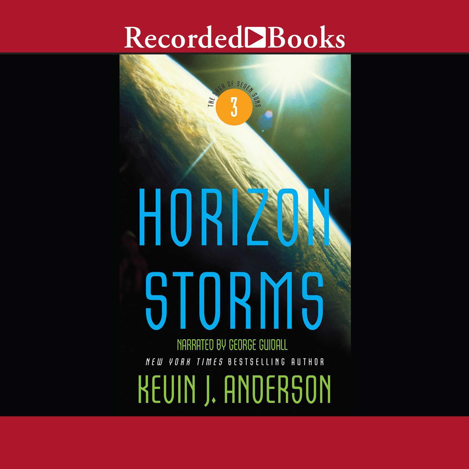 Printable Horizon Storms Audiobook Cover Art