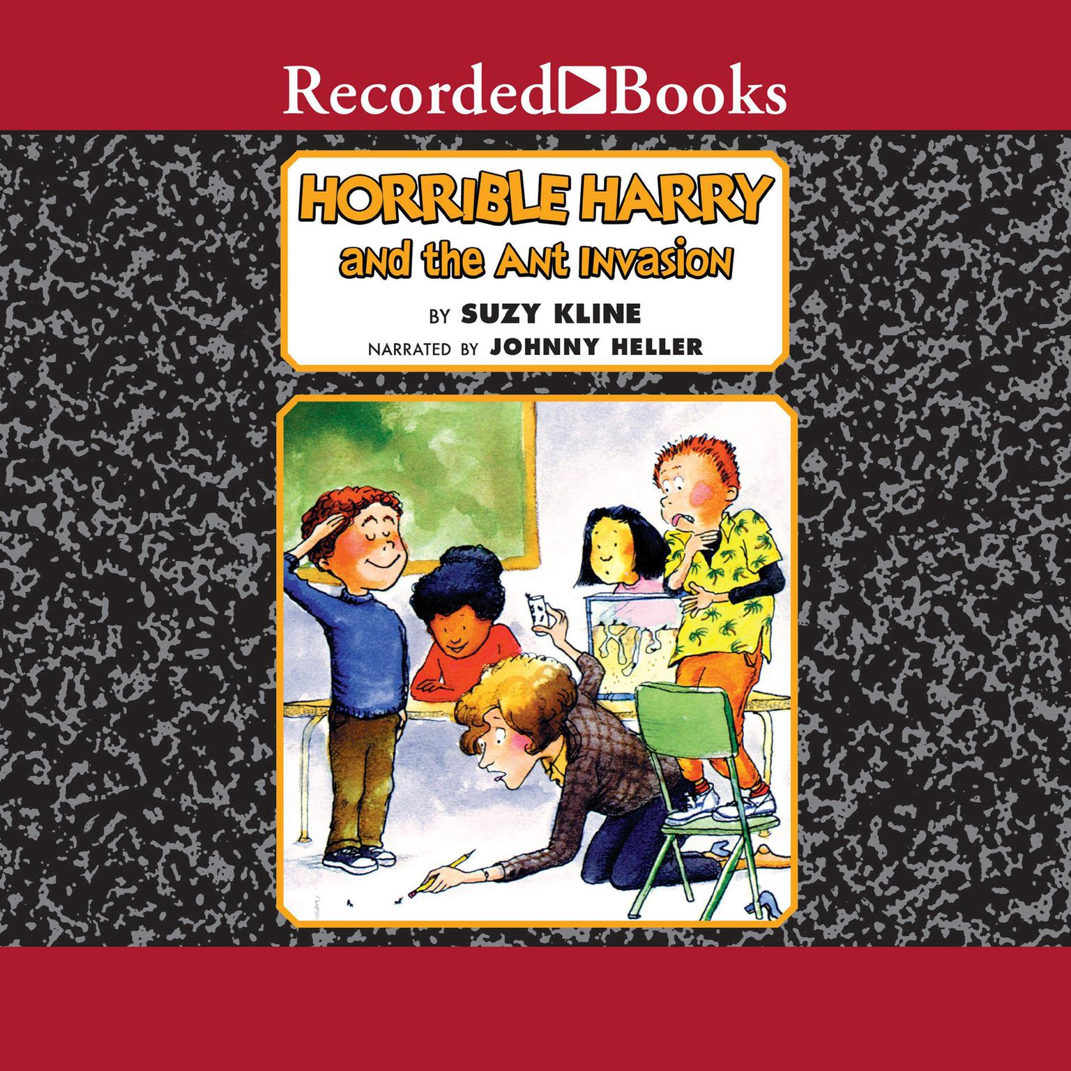 Printable Horrible Harry and the Ant Invasion Audiobook Cover Art