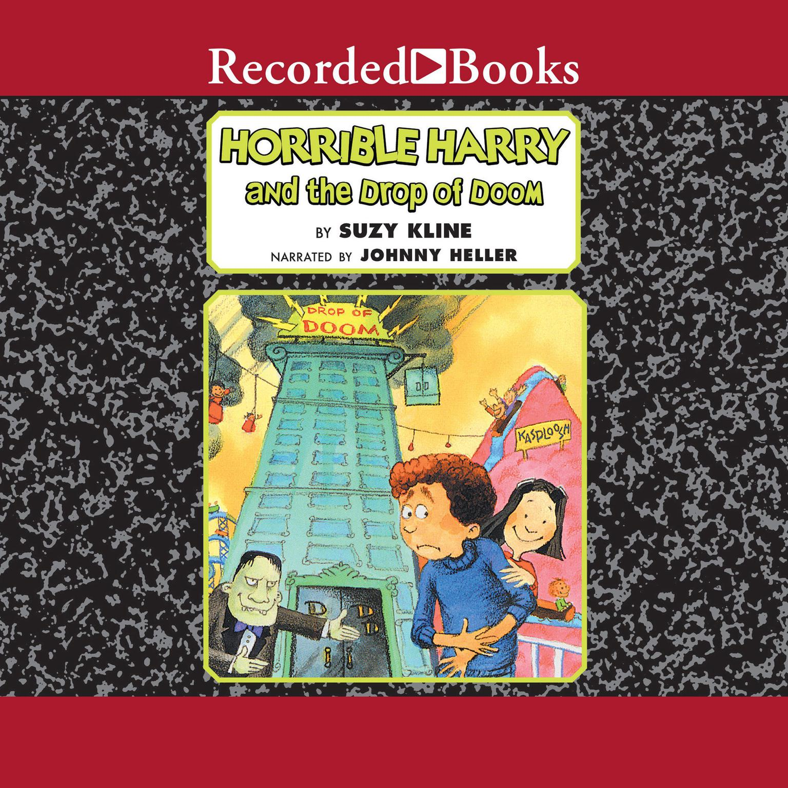 Printable Horrible Harry and the Drop of Doom Audiobook Cover Art