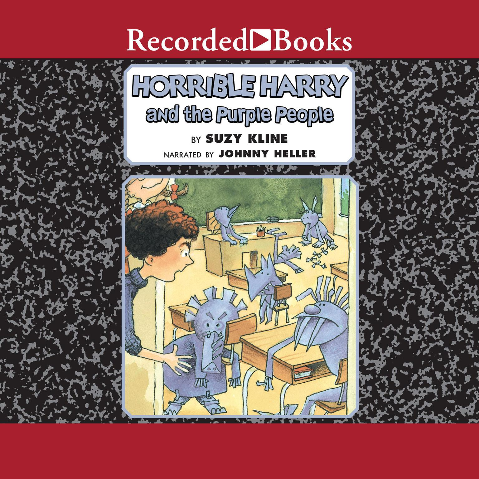 Printable Horrible Harry and the Purple People Audiobook Cover Art