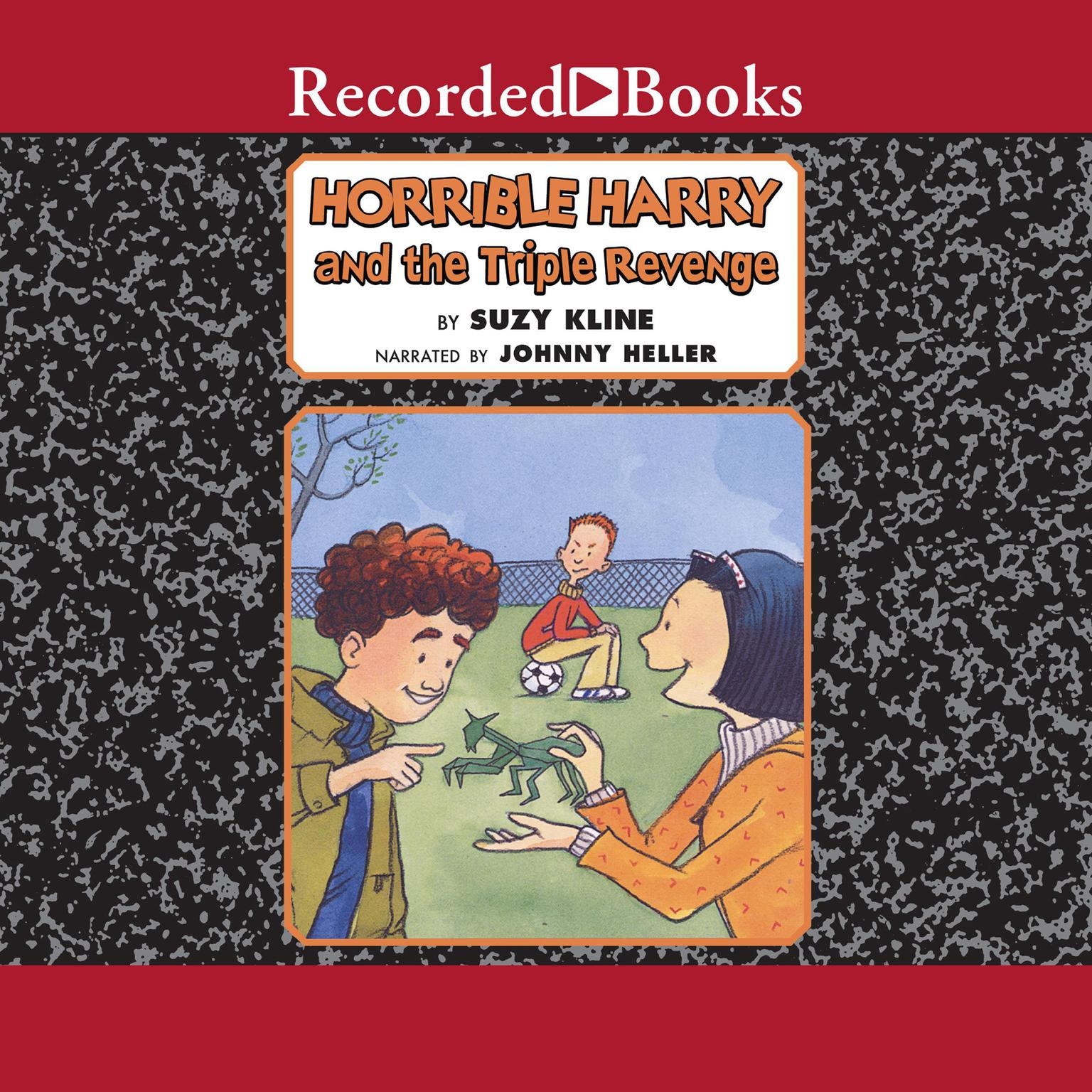 Printable Horrible Harry and the Triple Revenge Audiobook Cover Art