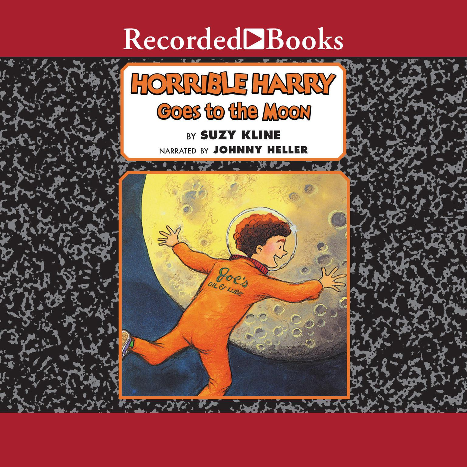 Printable Horrible Harry Goes to the Moon Audiobook Cover Art