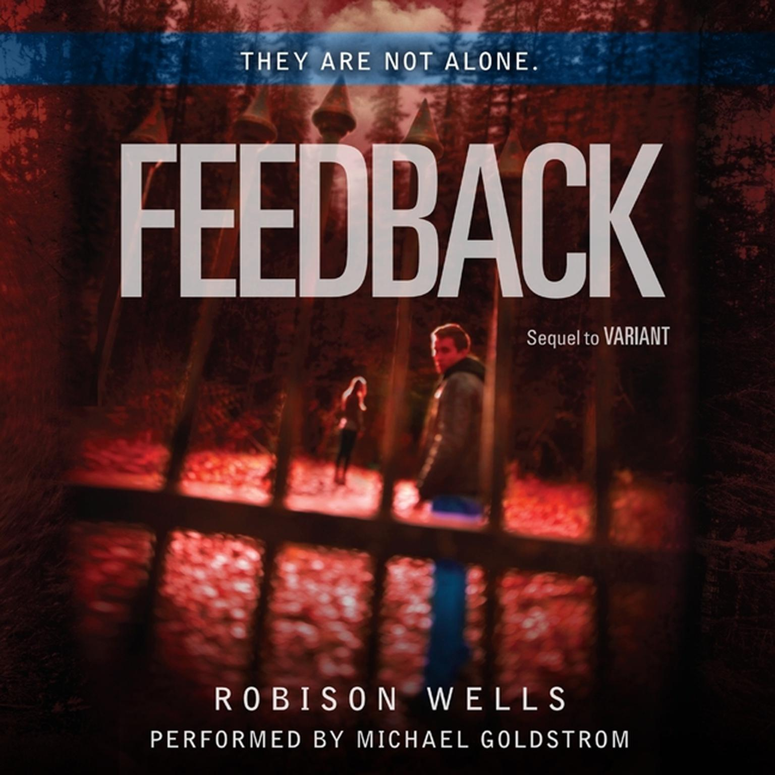 Printable Feedback Audiobook Cover Art