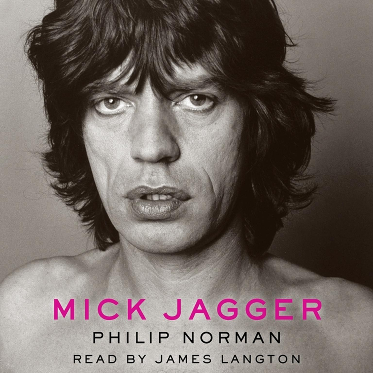 Printable Mick Jagger Audiobook Cover Art