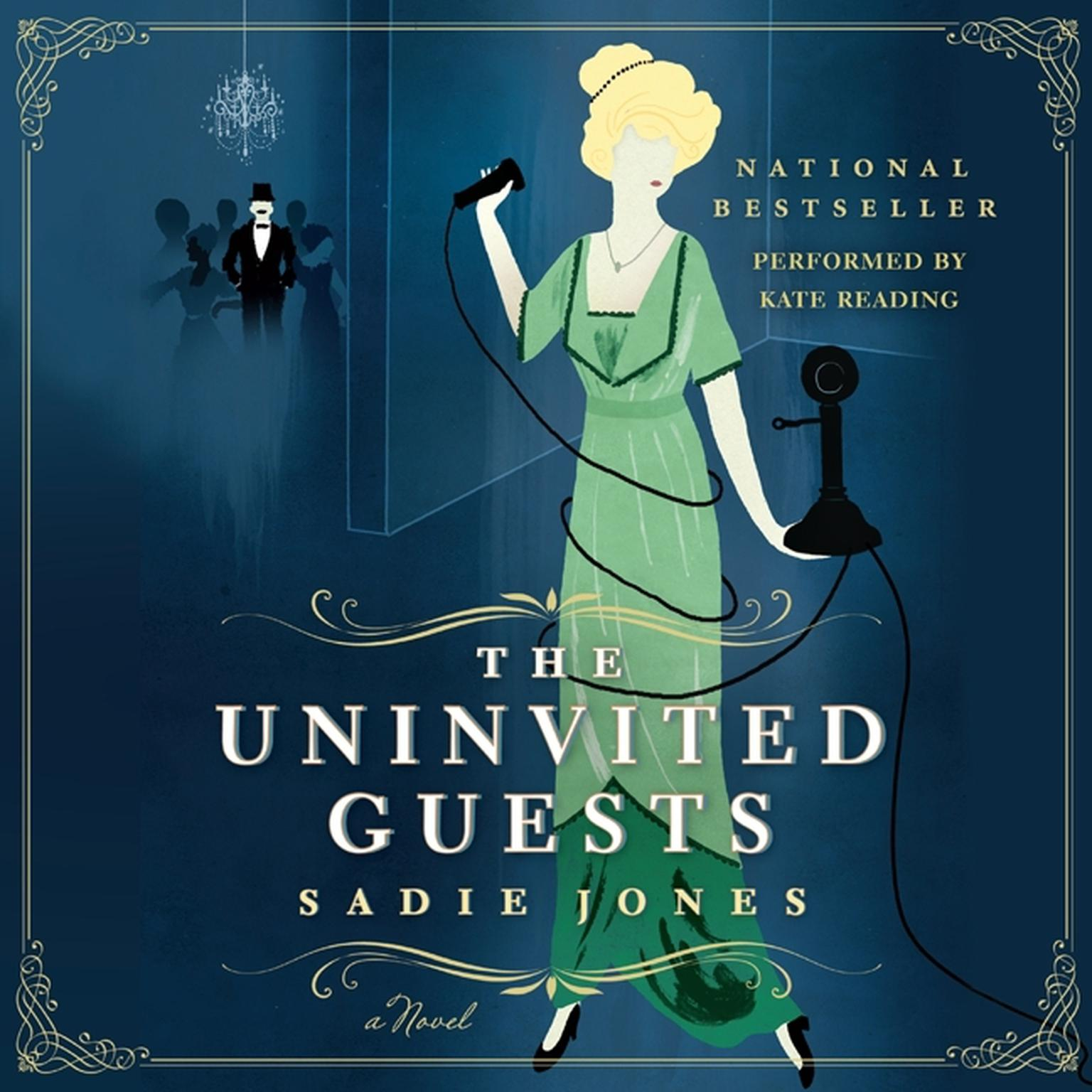 Printable The Uninvited Guests: A Novel Audiobook Cover Art