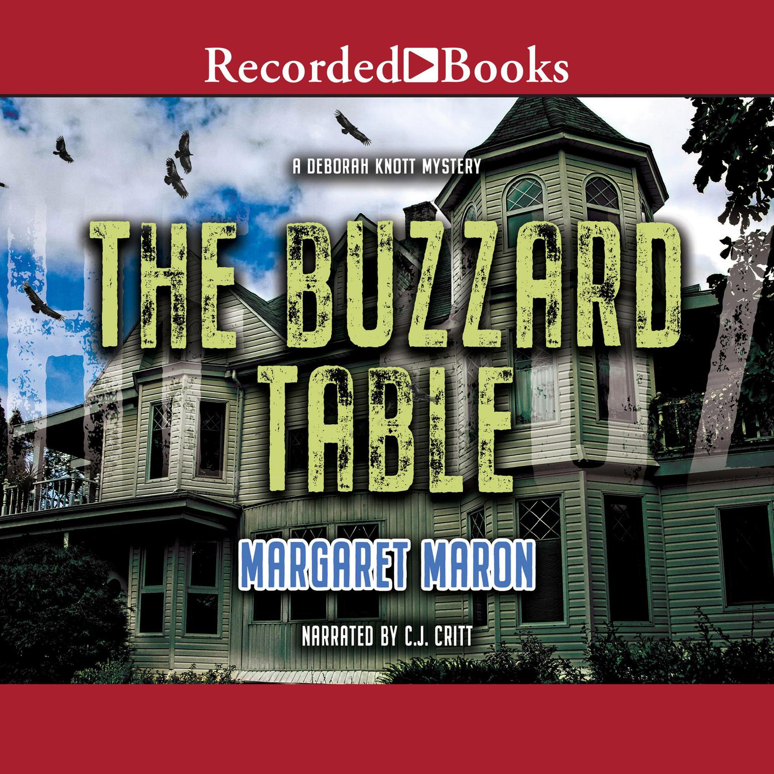 Printable The Buzzard Table Audiobook Cover Art