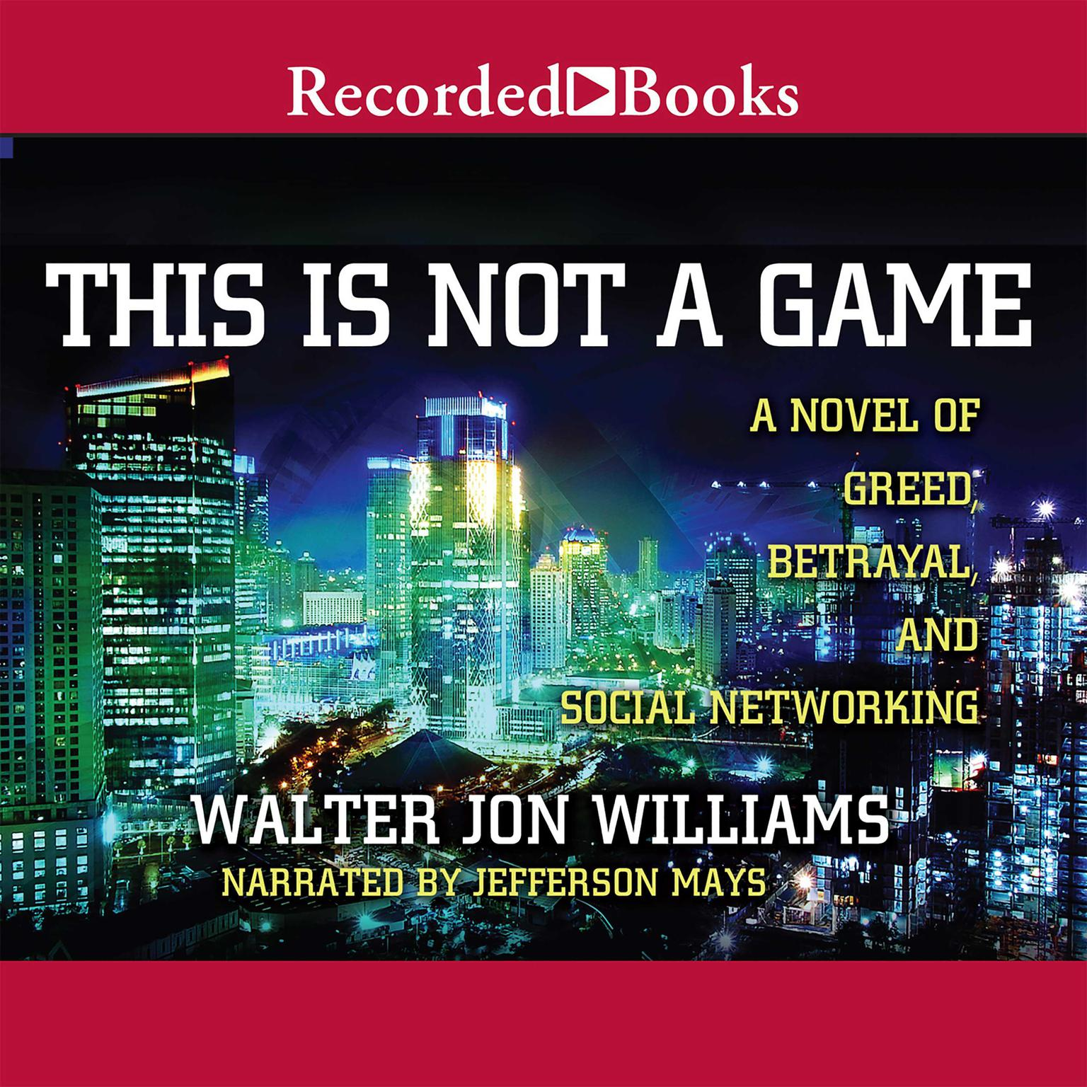 Printable This Is Not a Game Audiobook Cover Art