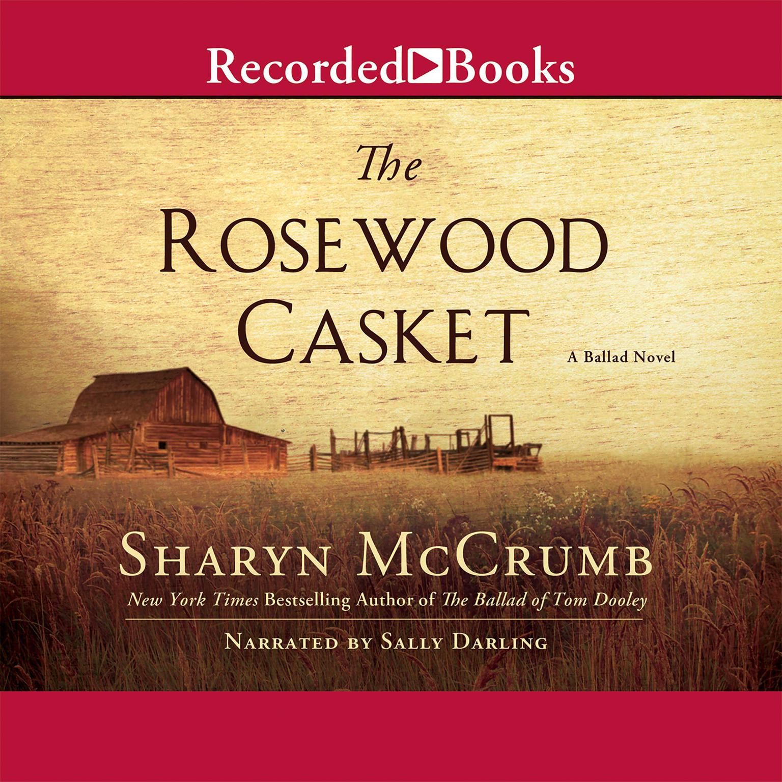 Printable The Rosewood Casket Audiobook Cover Art