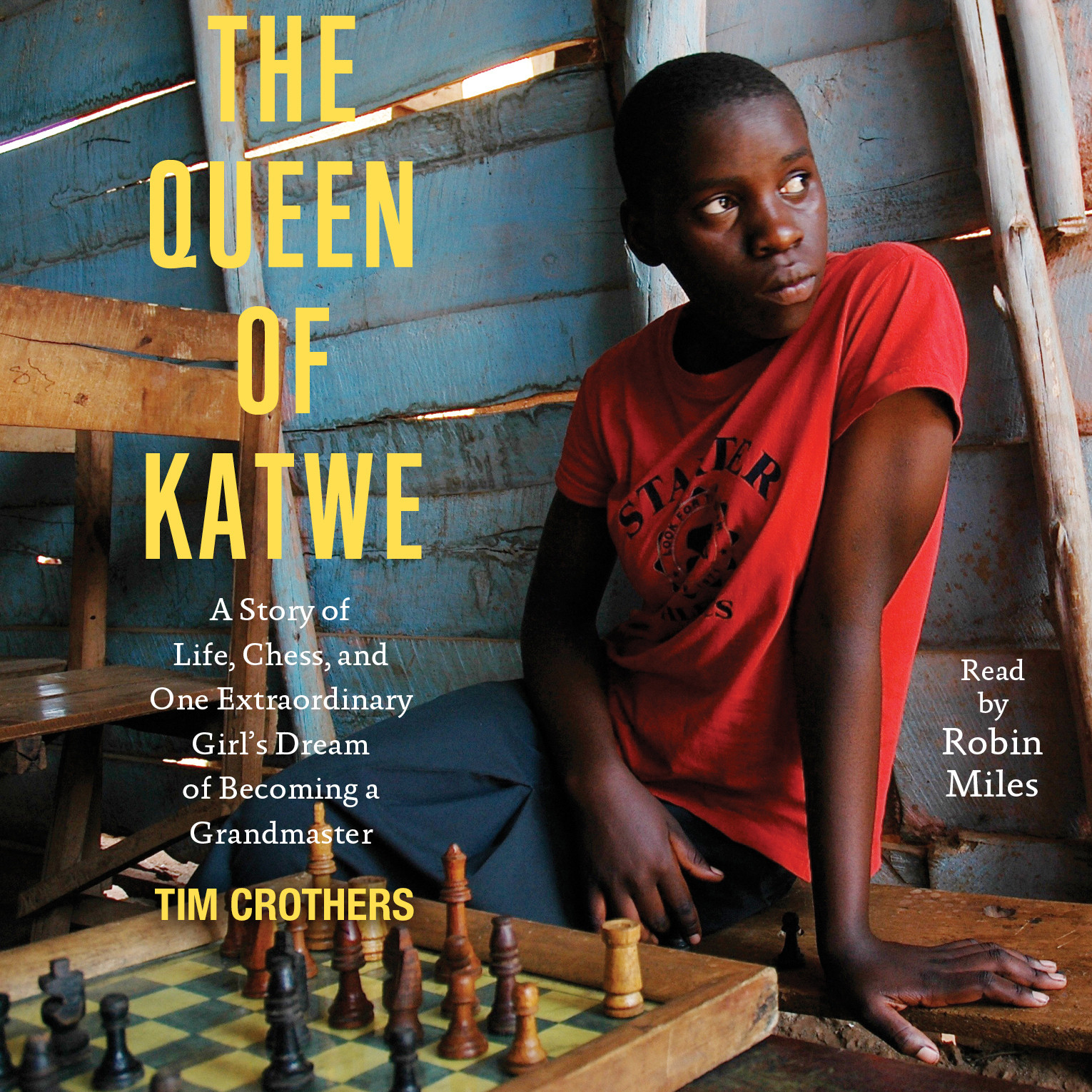 Printable The Queen of Katwe: A Story of Life, Chess, and One Extraordinary Girl Audiobook Cover Art