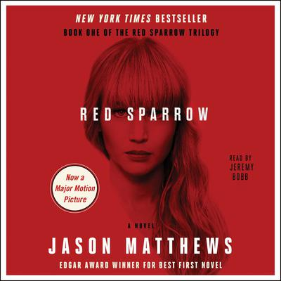 Printable Red Sparrow: A Novel Audiobook Cover Art