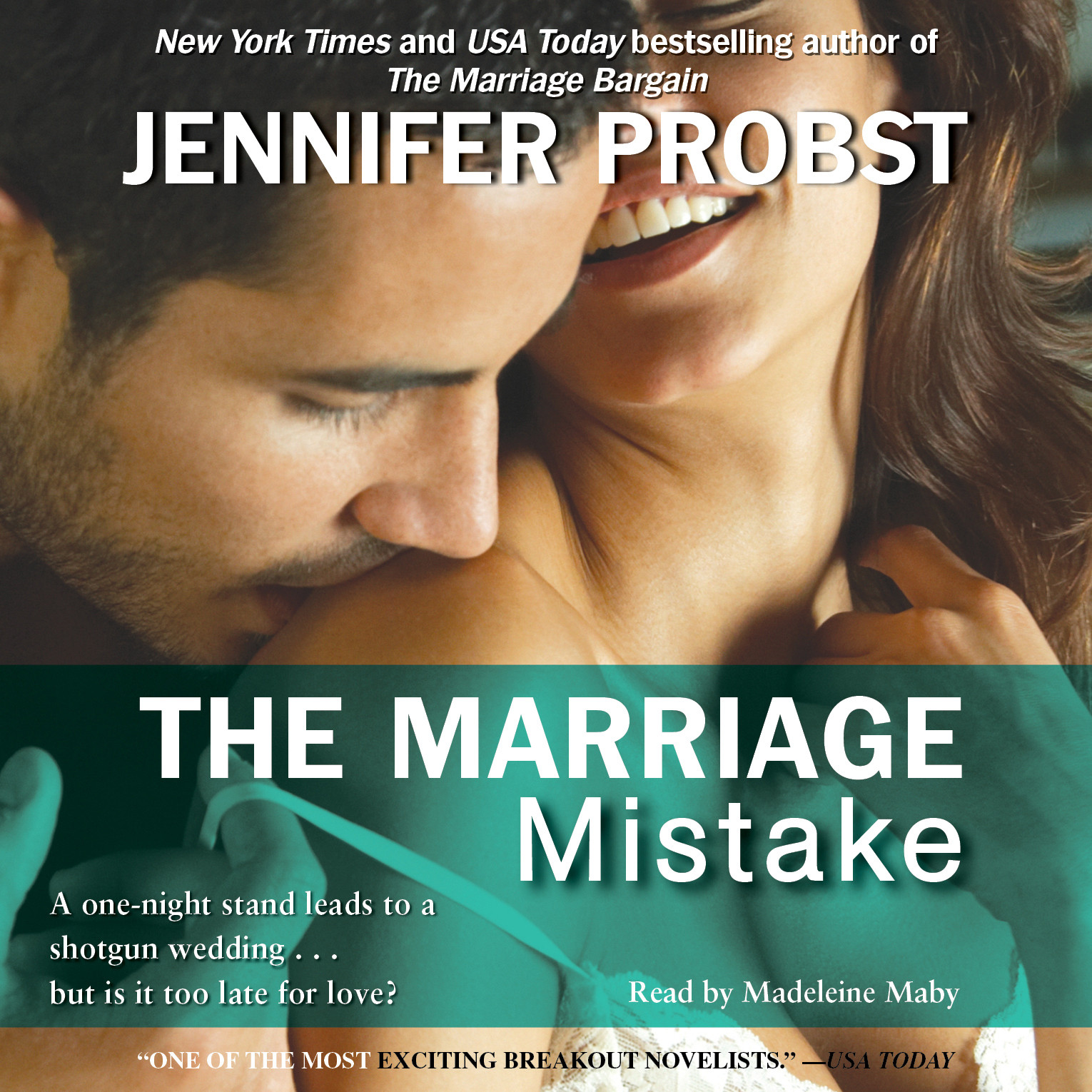 Printable The Marriage Mistake Audiobook Cover Art