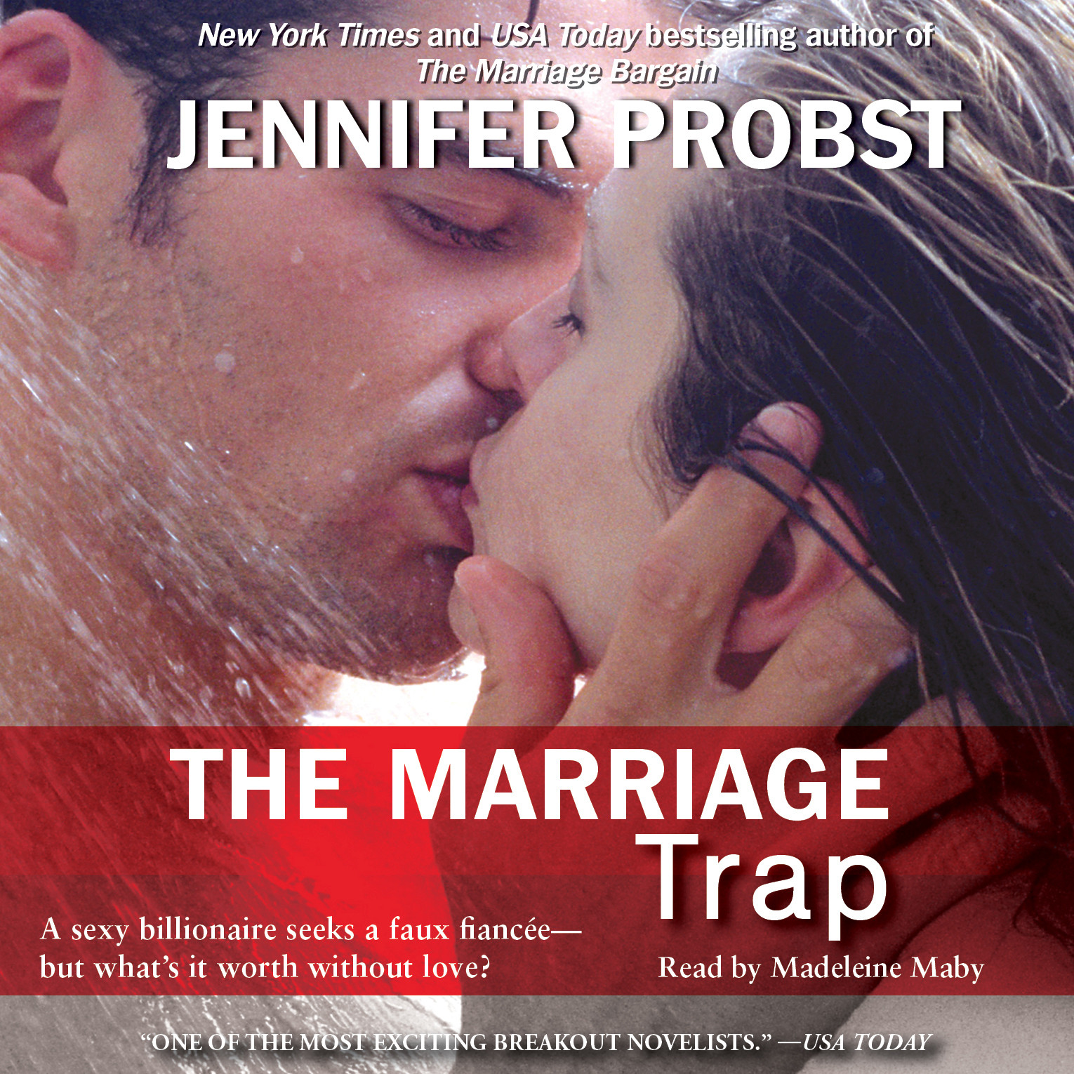 Printable The Marriage Trap Audiobook Cover Art