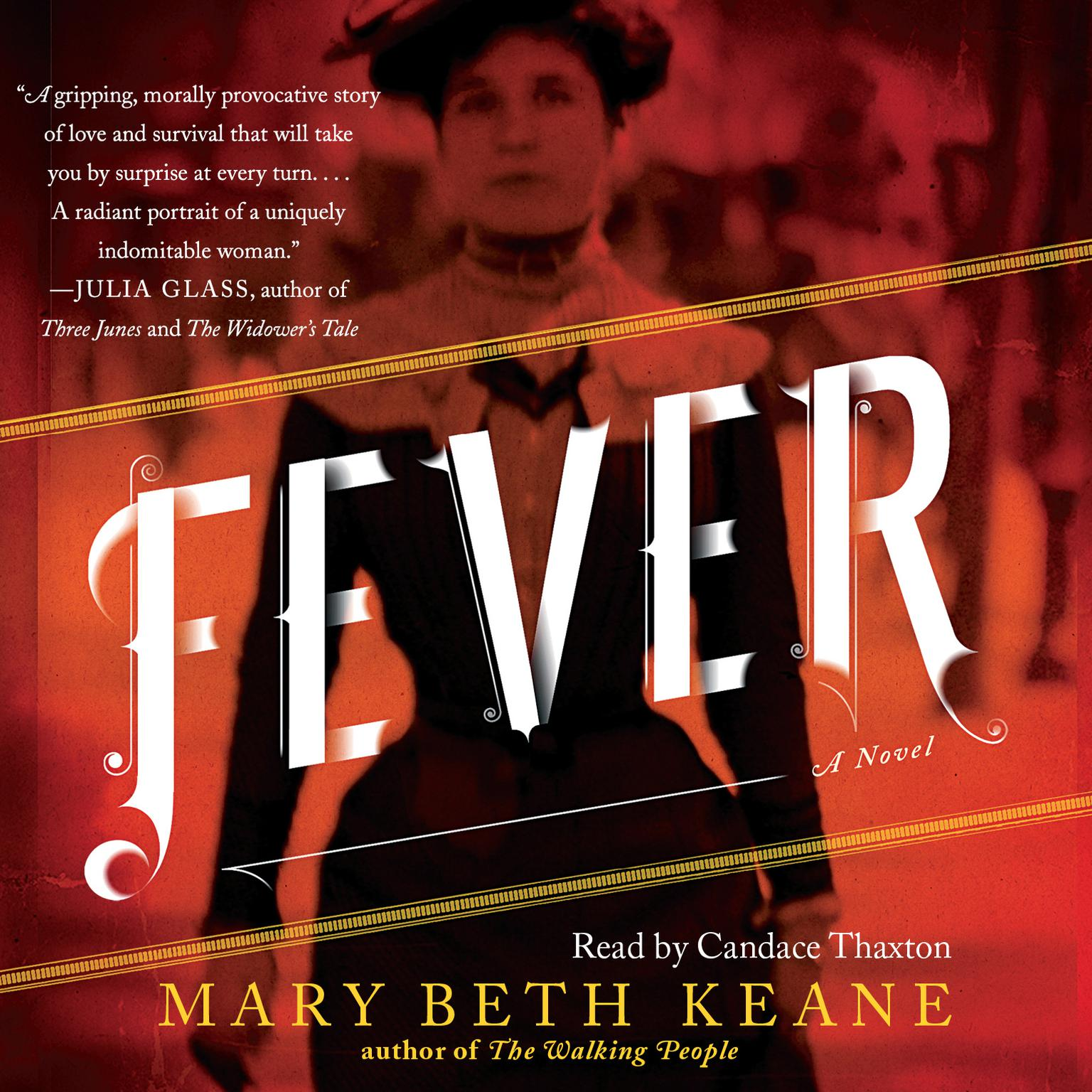 Printable Fever: A Novel Audiobook Cover Art