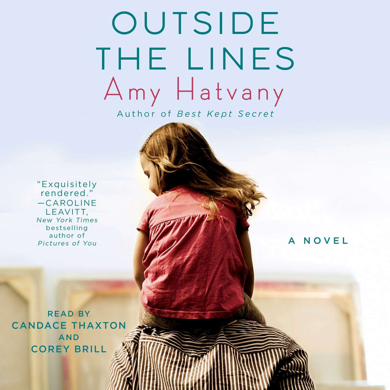 Printable Outside the Lines: A Novel Audiobook Cover Art