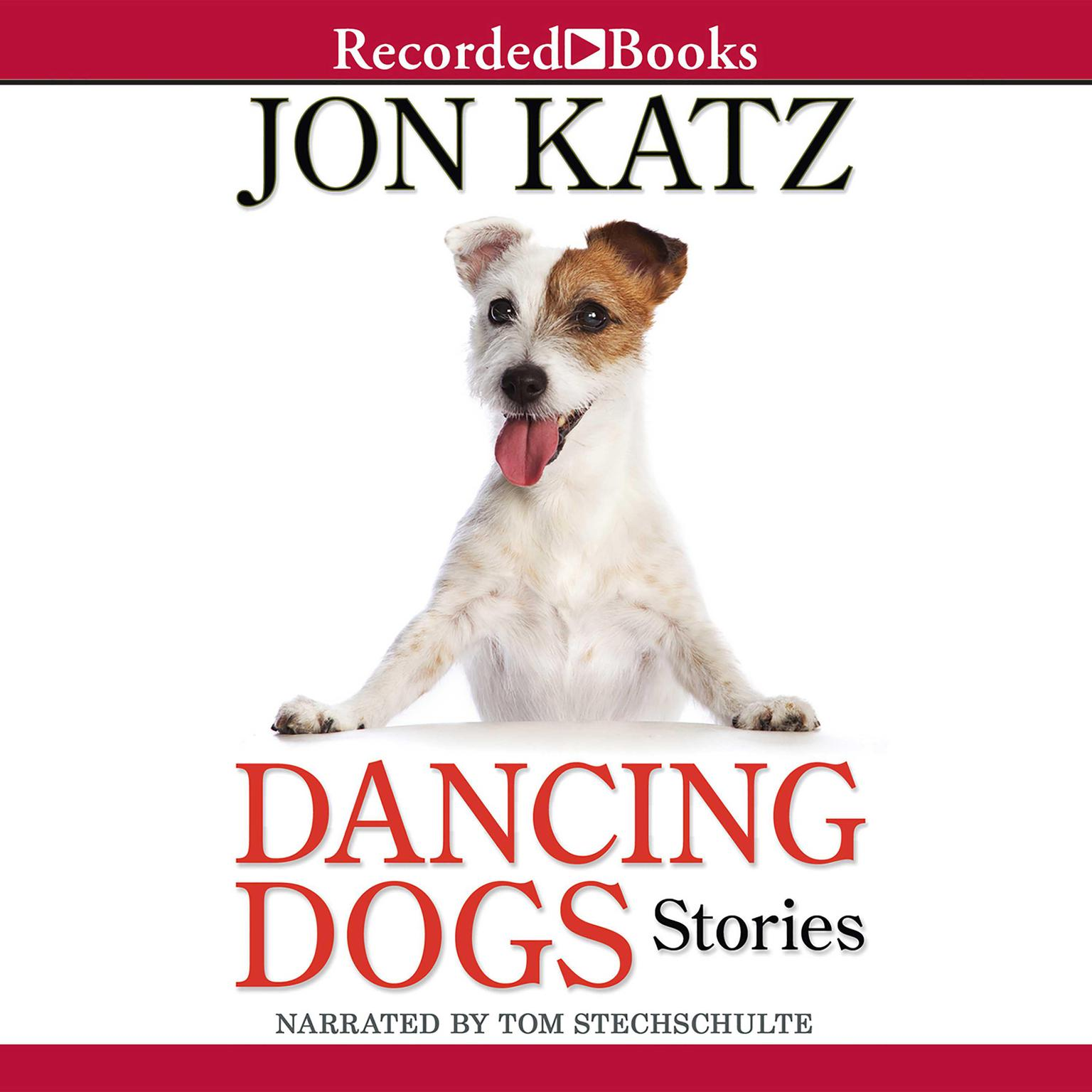 Printable Dancing Dogs: Stories Audiobook Cover Art