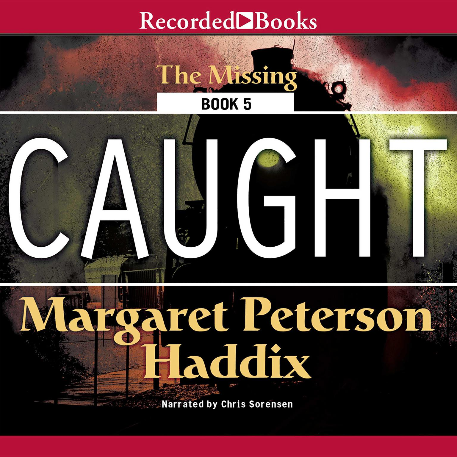 Printable Caught Audiobook Cover Art