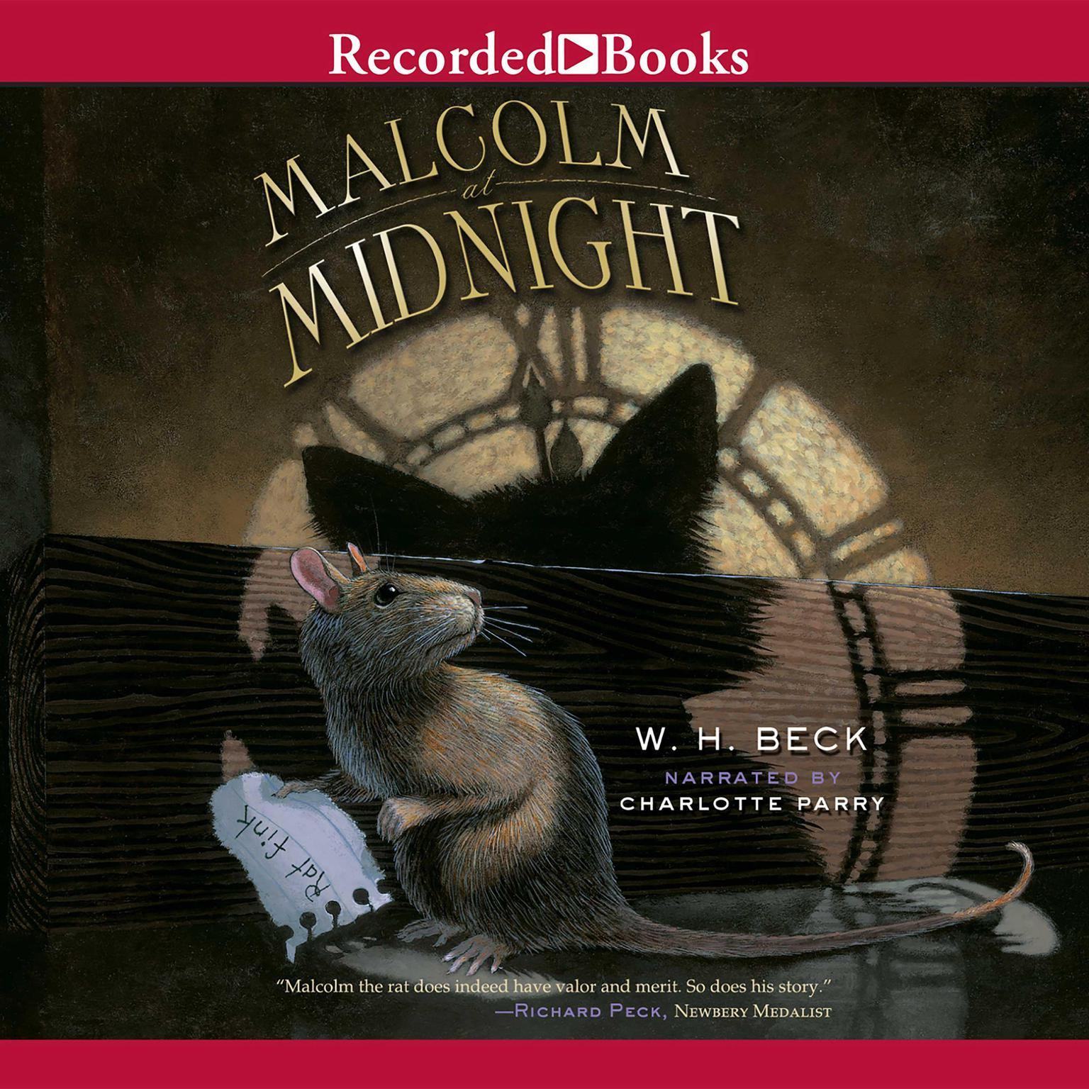 Printable Malcolm at Midnight Audiobook Cover Art