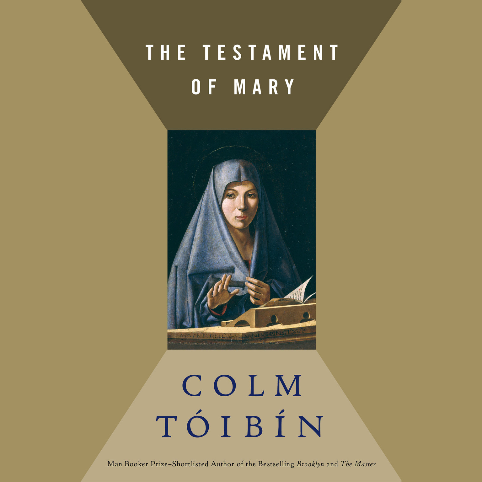 Printable The Testament of Mary Audiobook Cover Art