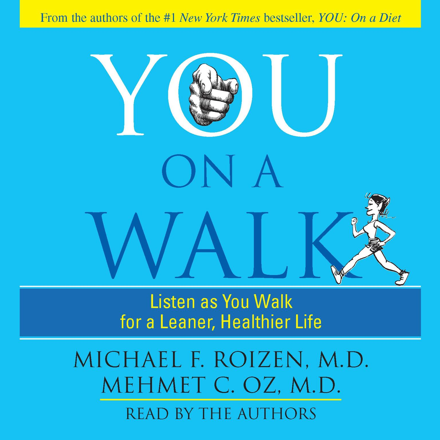 Printable You: On A Walk: Listen as You Walk for a Leaner, Healthier Life Audiobook Cover Art