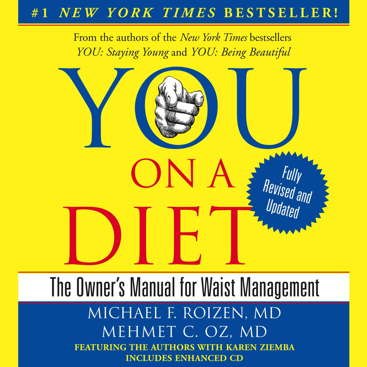 Printable YOU: On A Diet Revised Edition: The Owner's Manual for Waist Management Audiobook Cover Art