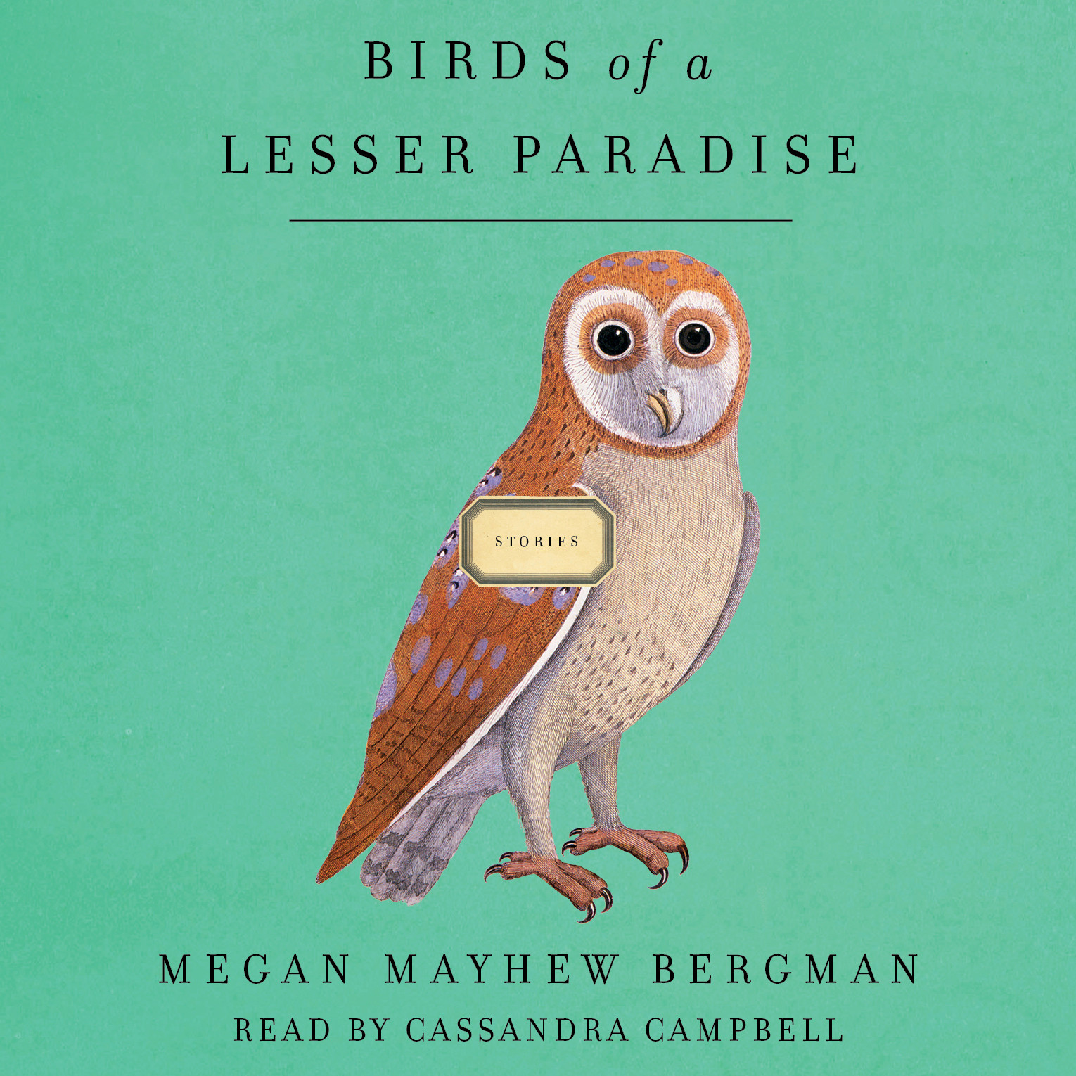 Printable Birds of a Lesser Paradise: Stories Audiobook Cover Art