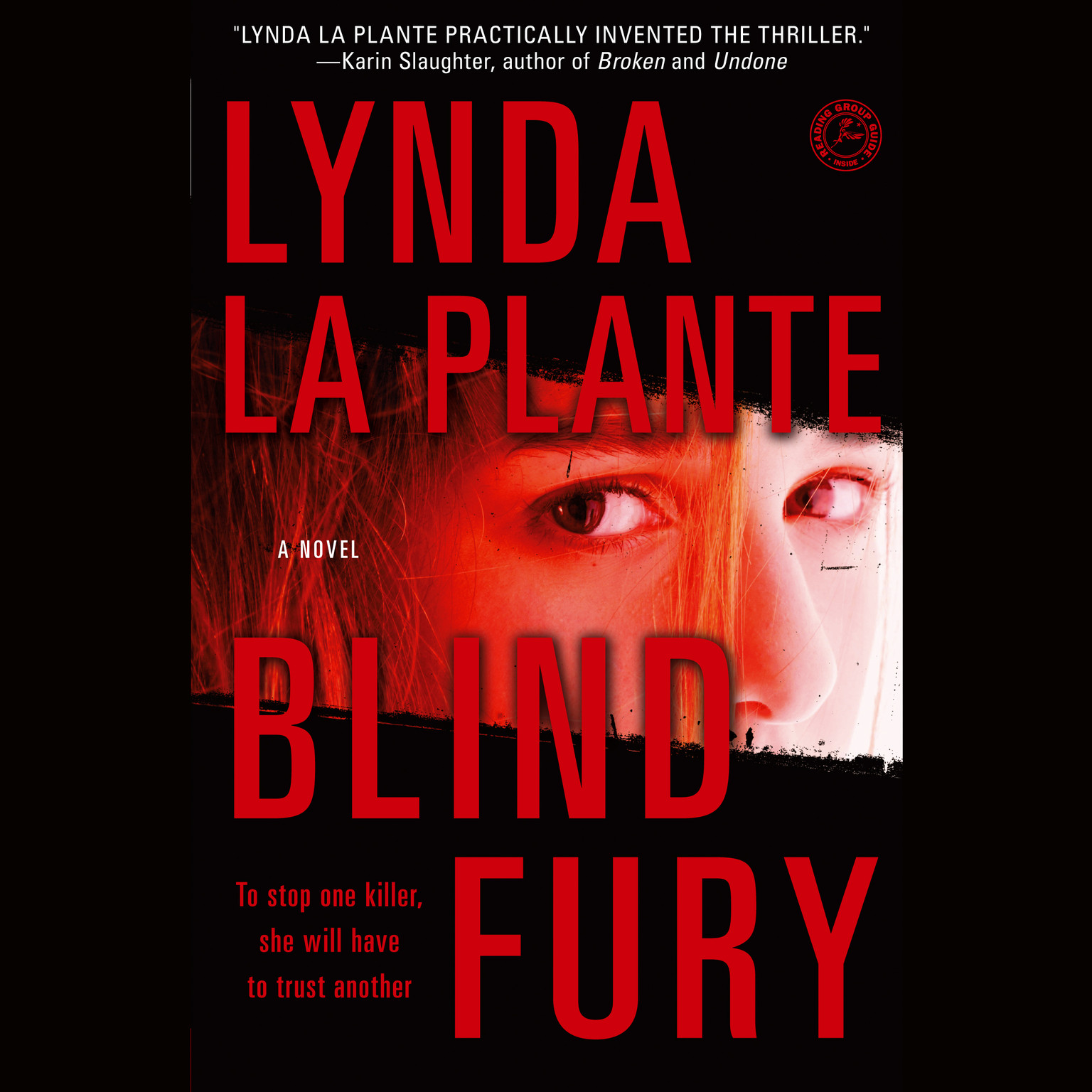Printable Blind Fury Audiobook Cover Art