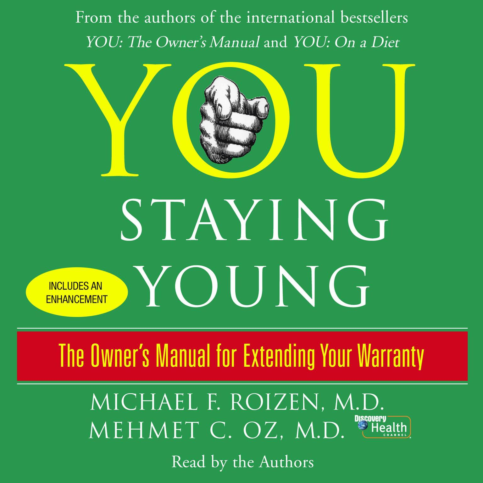 Printable You: Staying Young: The Owner's Manual for Extending Your Warranty Audiobook Cover Art