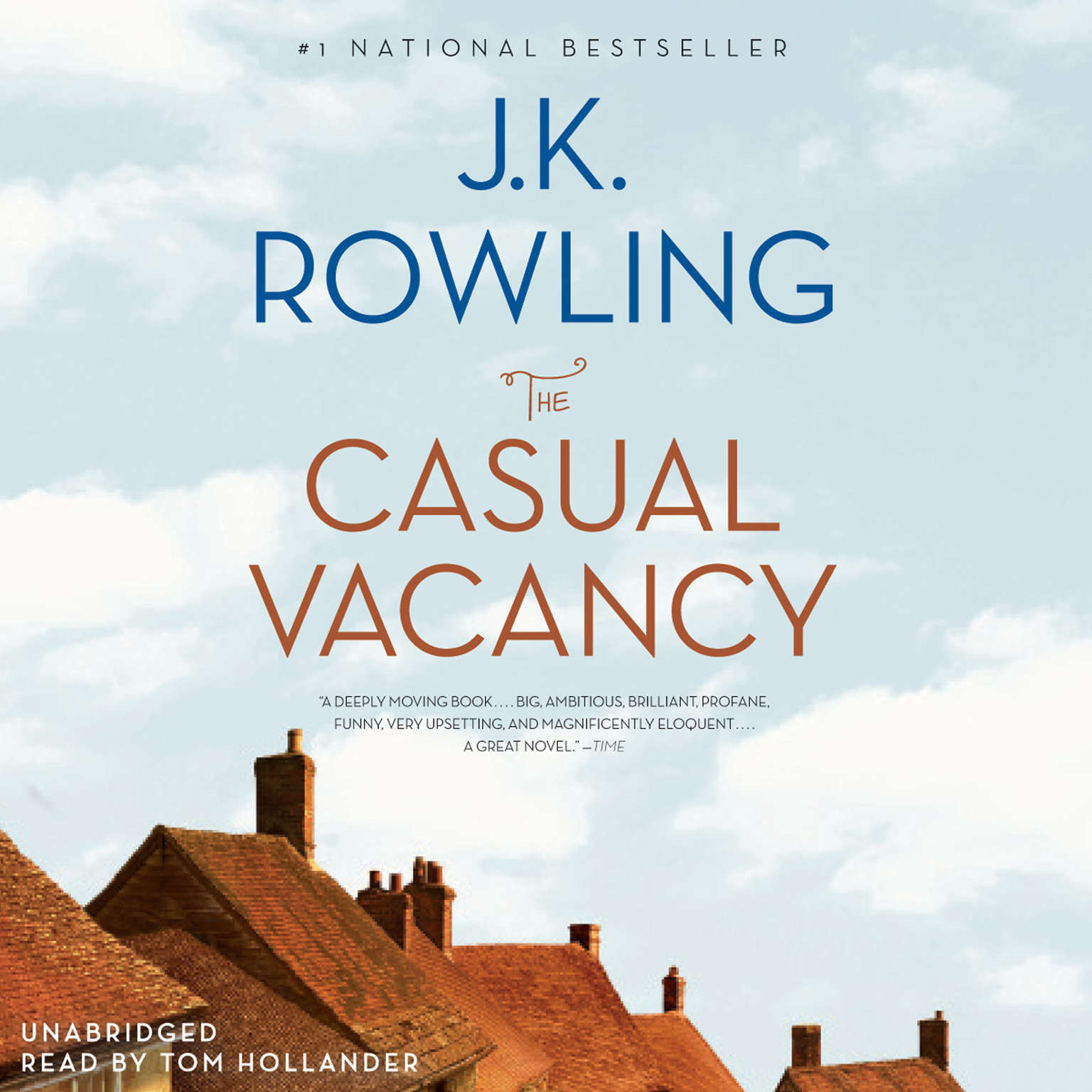 Printable The Casual Vacancy Audiobook Cover Art