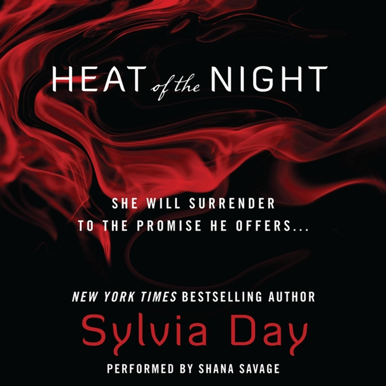 Printable Heat of the Night Audiobook Cover Art